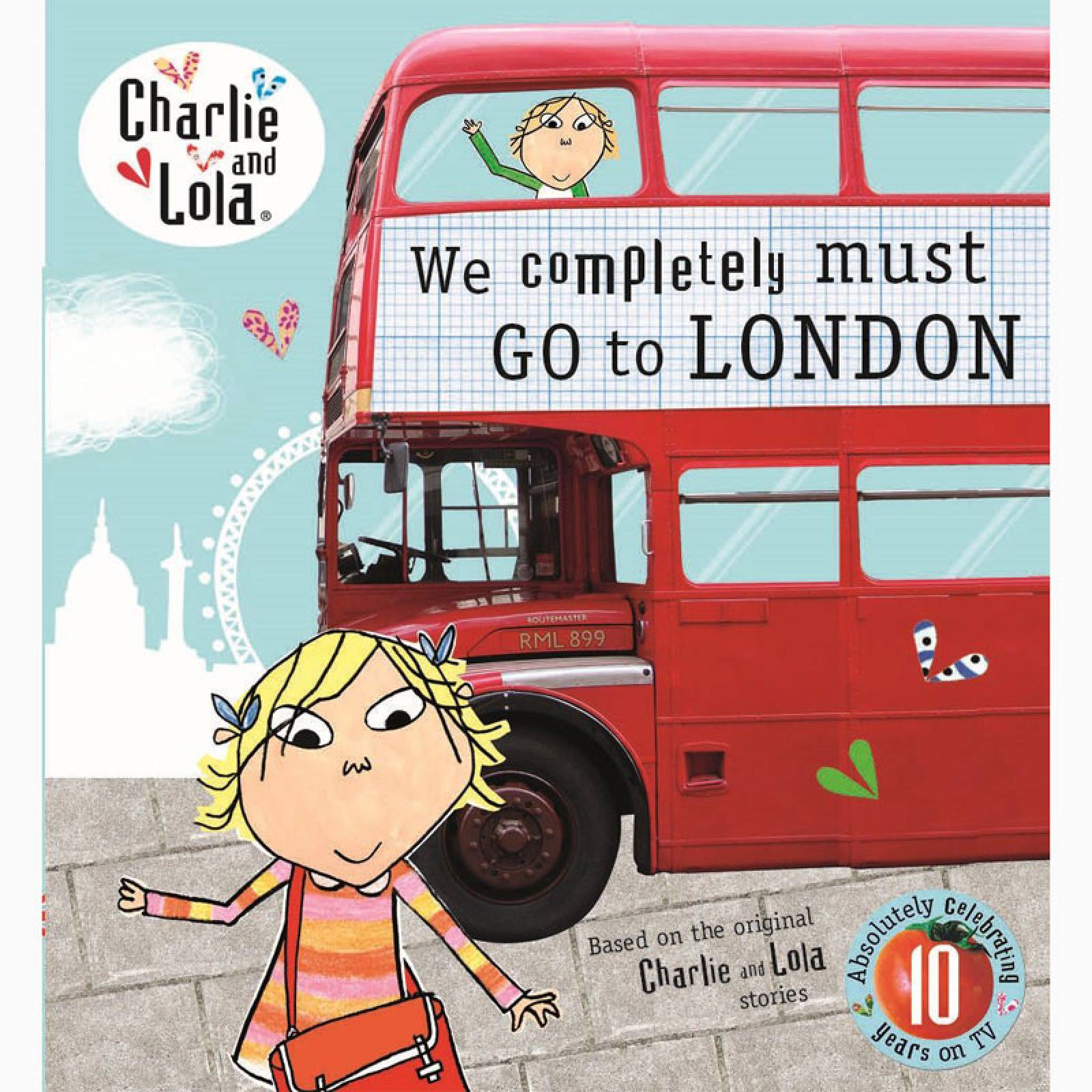 Charlie And Lola: We Completely Must Go To London Mini Book
