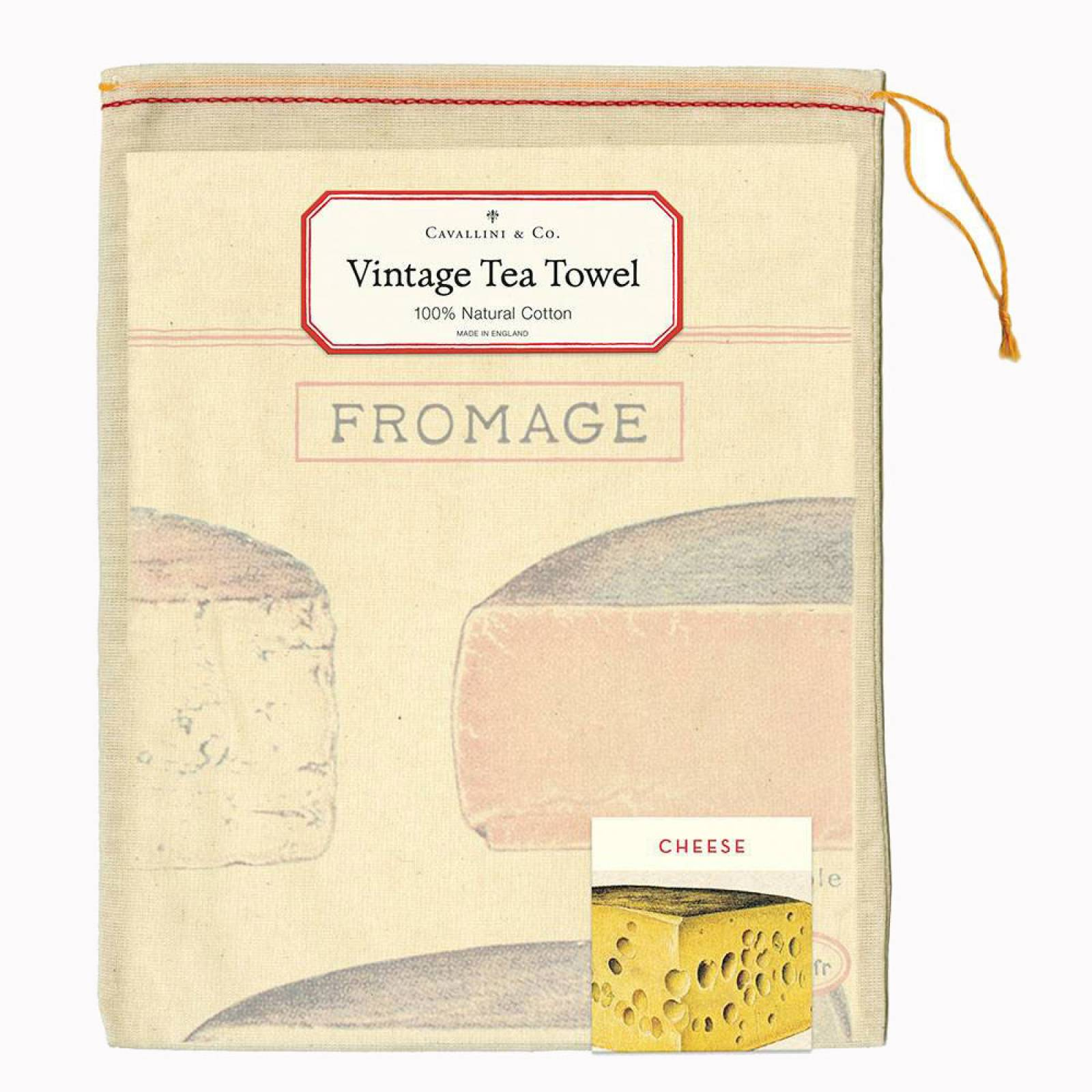 Cheese Tea Towel With Gift Bag thumbnails