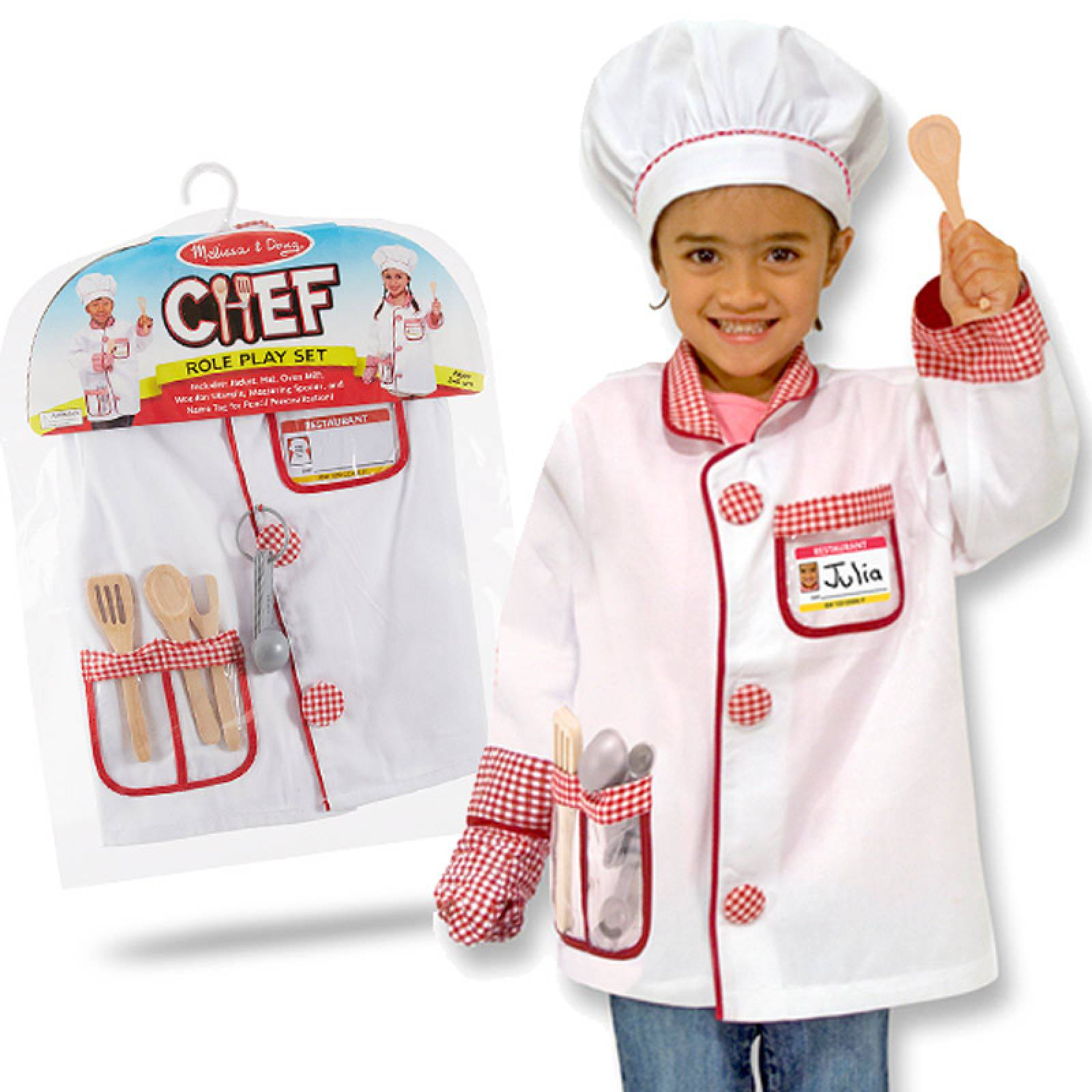 Fancy Dress Role Play Costume Set - Chef thumbnails