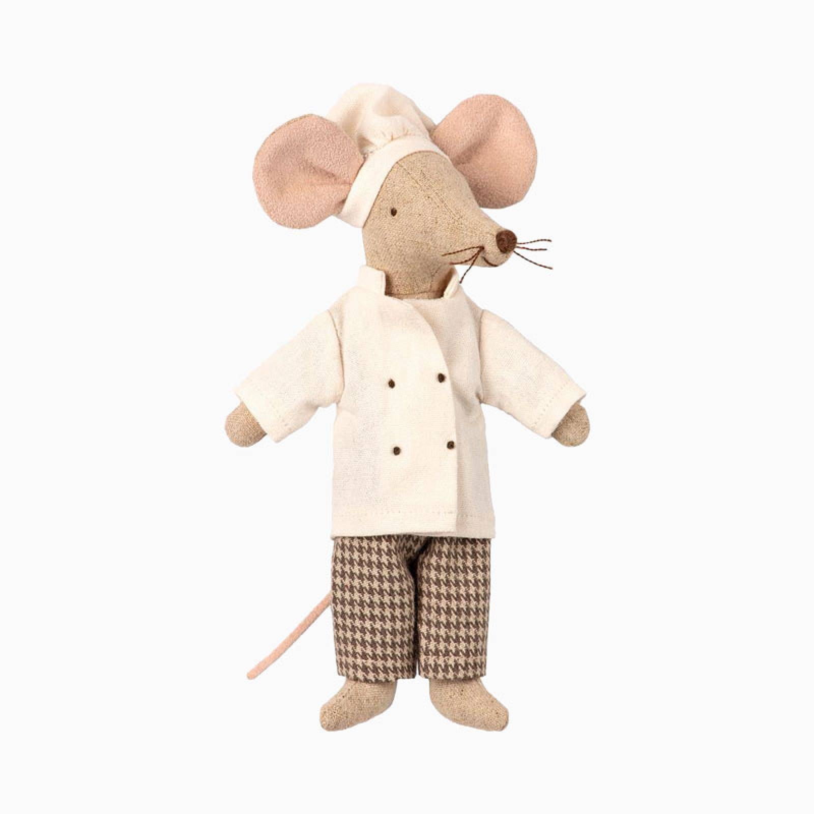 Mouse Chef Soft Toy By Maileg thumbnails