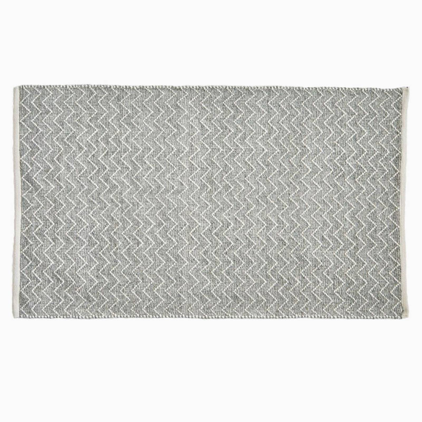 Chenille Dove Grey 150cm x 90cm Recycled Bottle Rug thumbnails