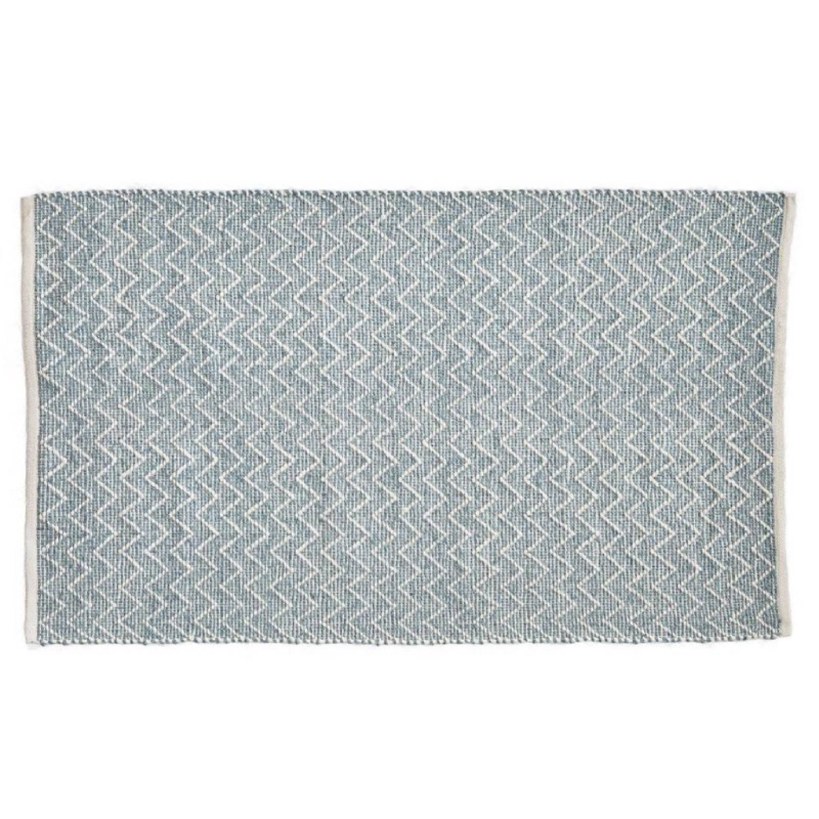 Chenille Teal 110 x 60cm Recycled Bottle Rug thumbnails