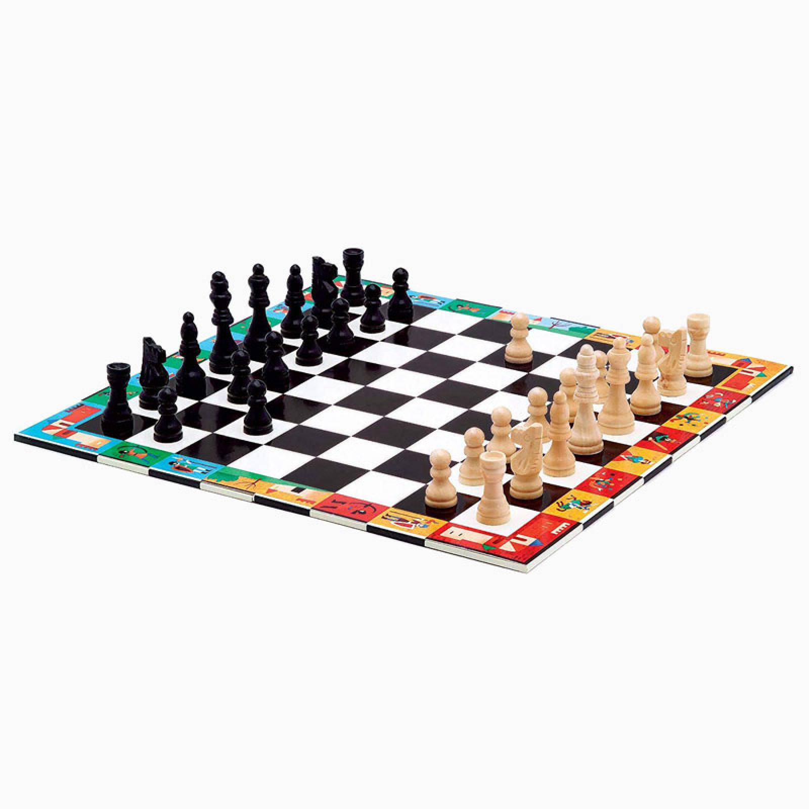 Chess And Draughts Game By Djeco