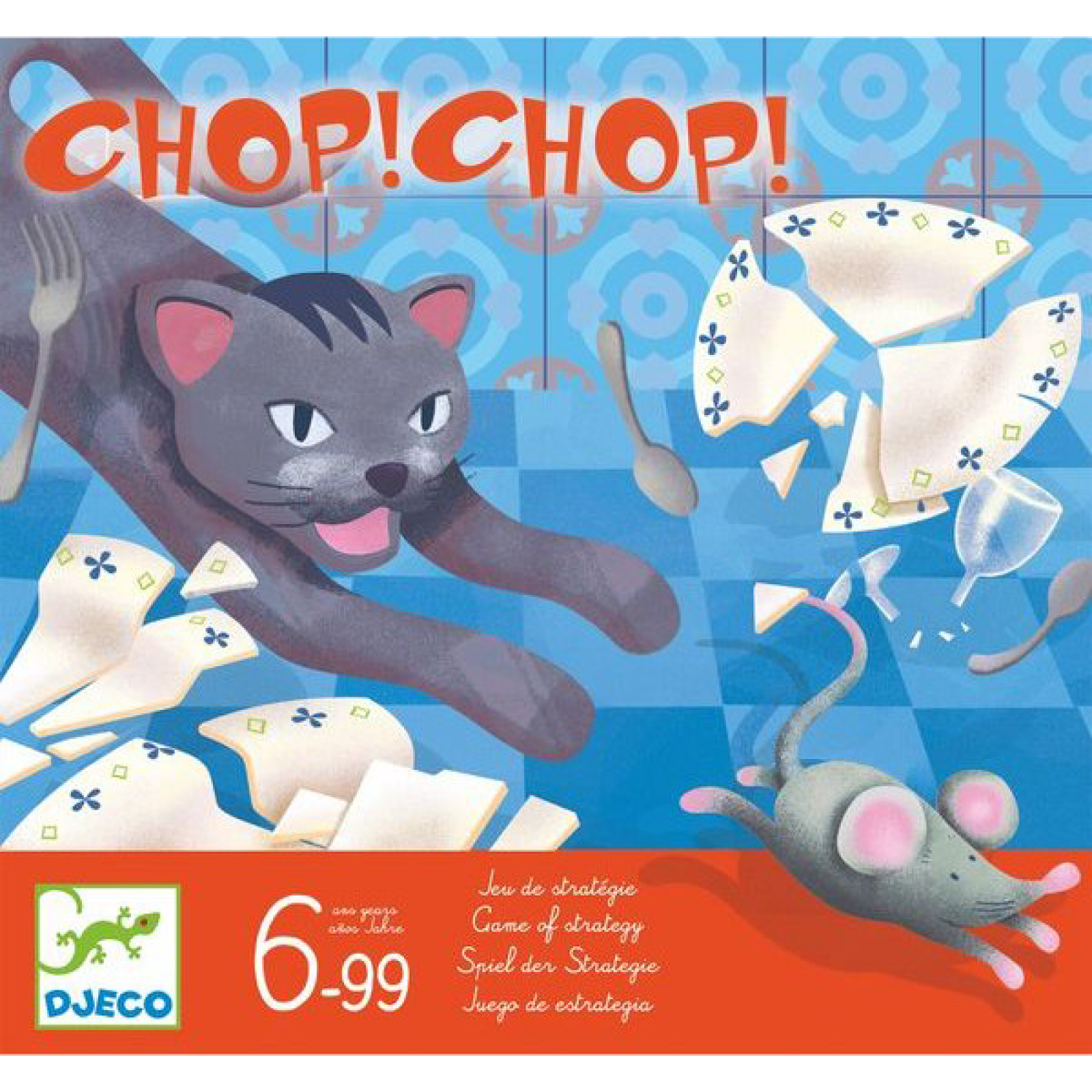 Chop Chop Game By Djeco 6+