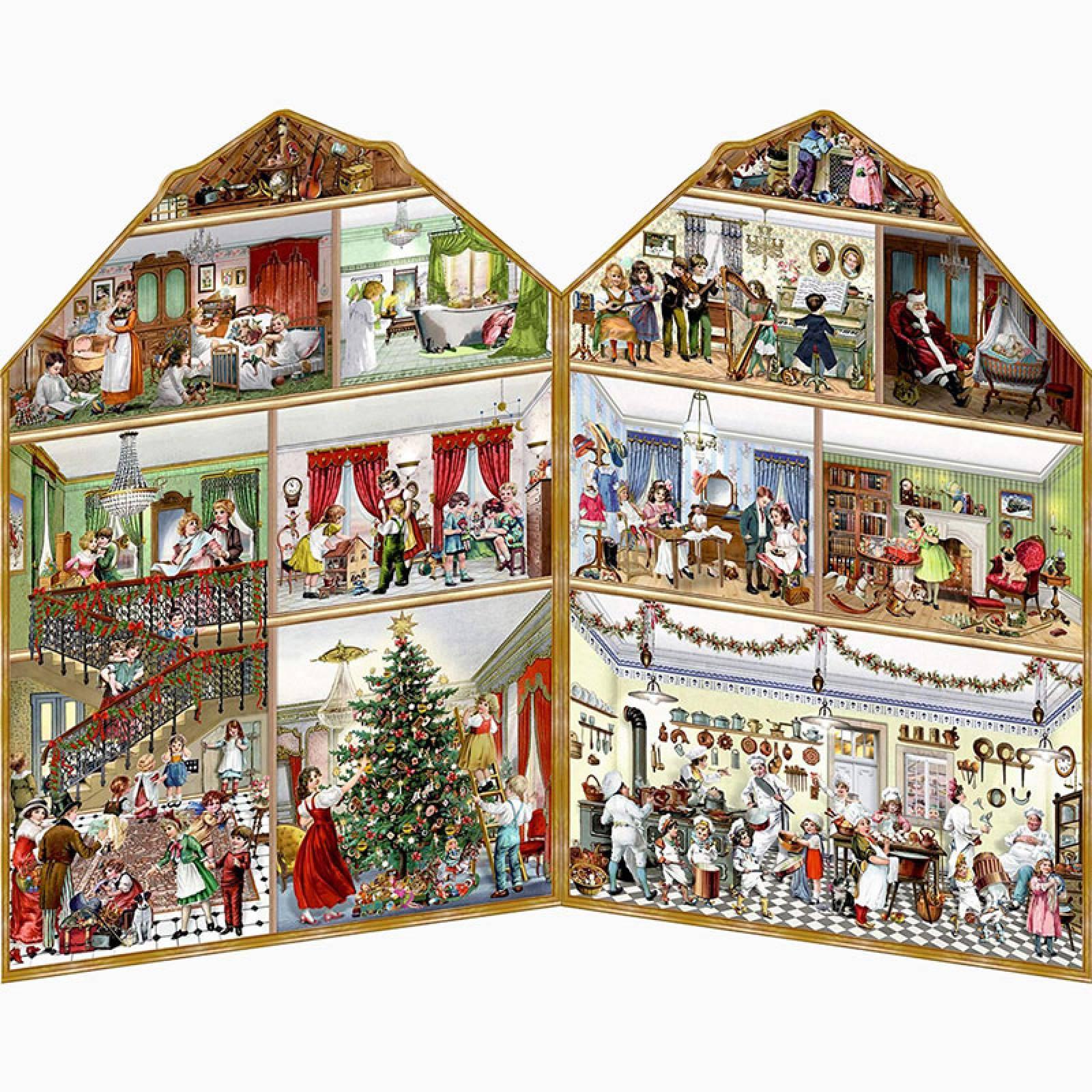 Christmas at the Mansion Advent Calendar thumbnails