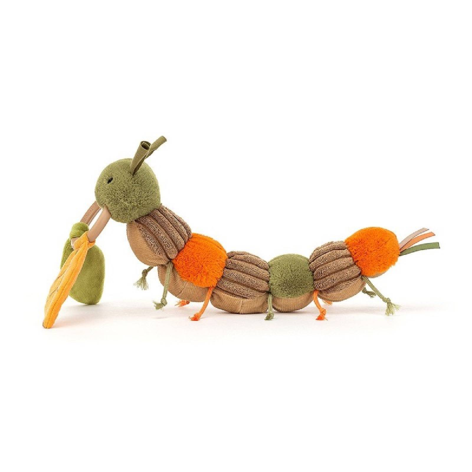 Christopher Caterpillar Soft Activity Toy By Jellycat thumbnails