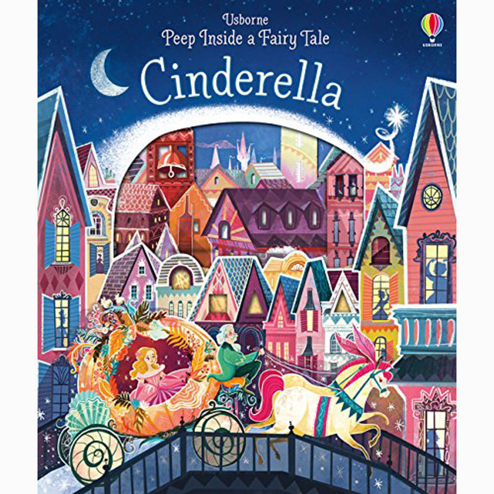 Cinderella Peep Inside A Fairy Tale - Board Book