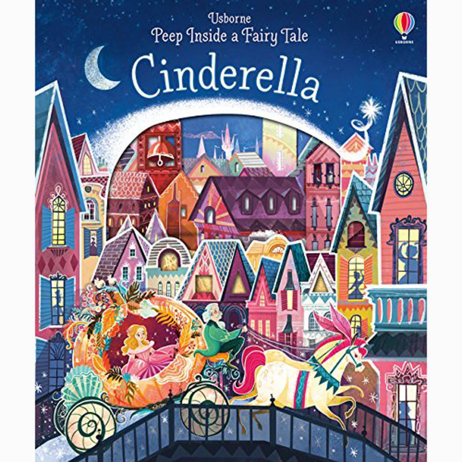 Cinderella Peep Inside A Fairy Tale - Board Book