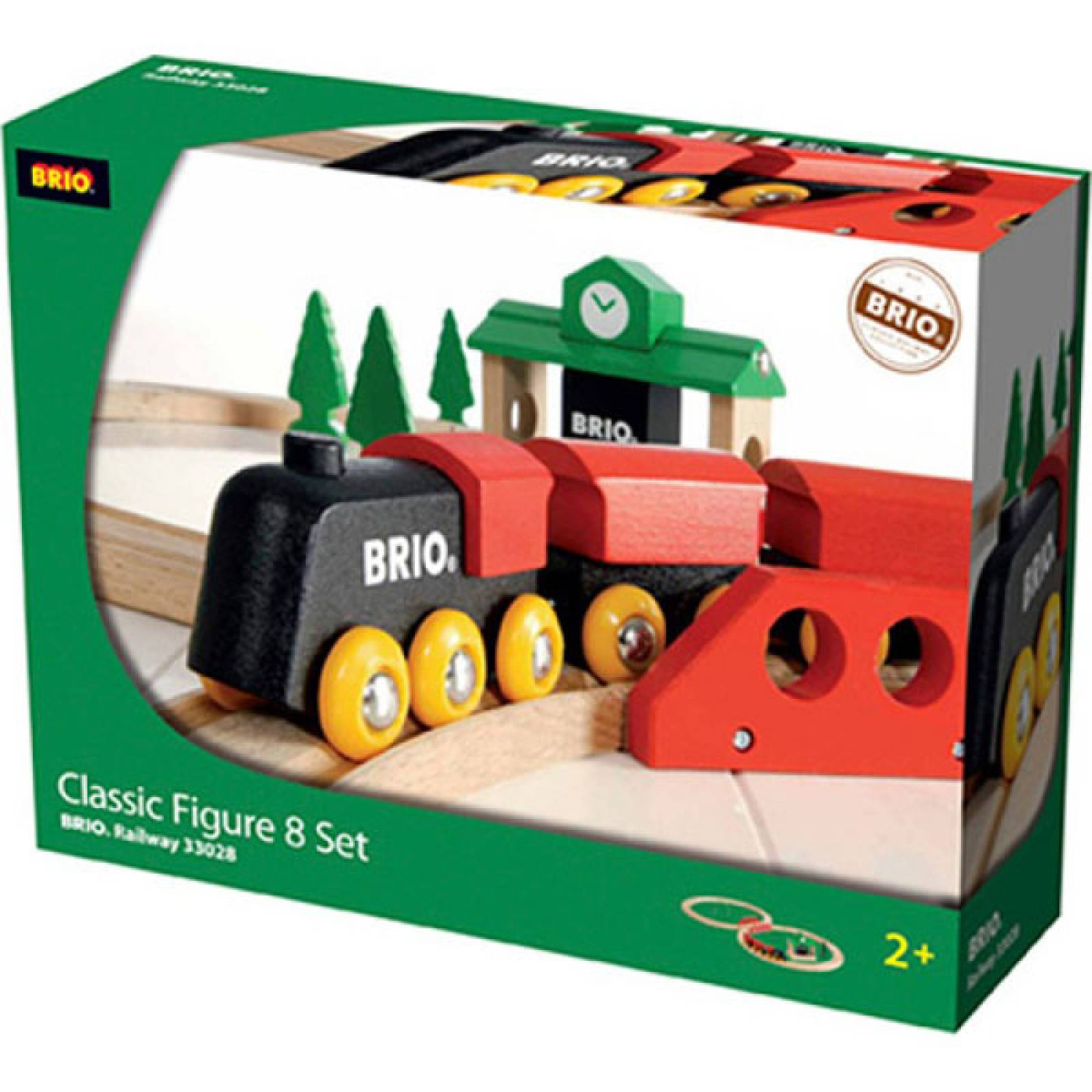 Classic Figure of 8 Set BRIO Wooden Railway 3+ thumbnails