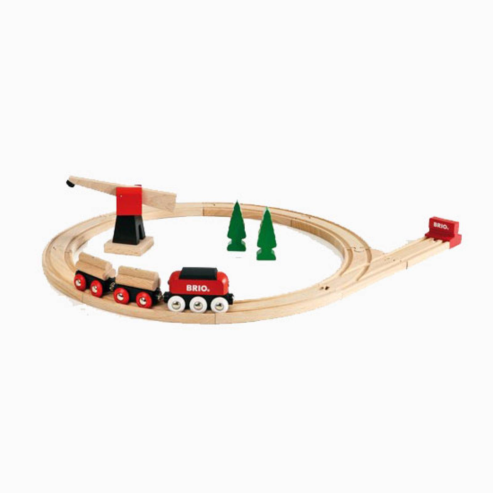 Classic Freight Set BRIO® Wooden Railway Age 3+