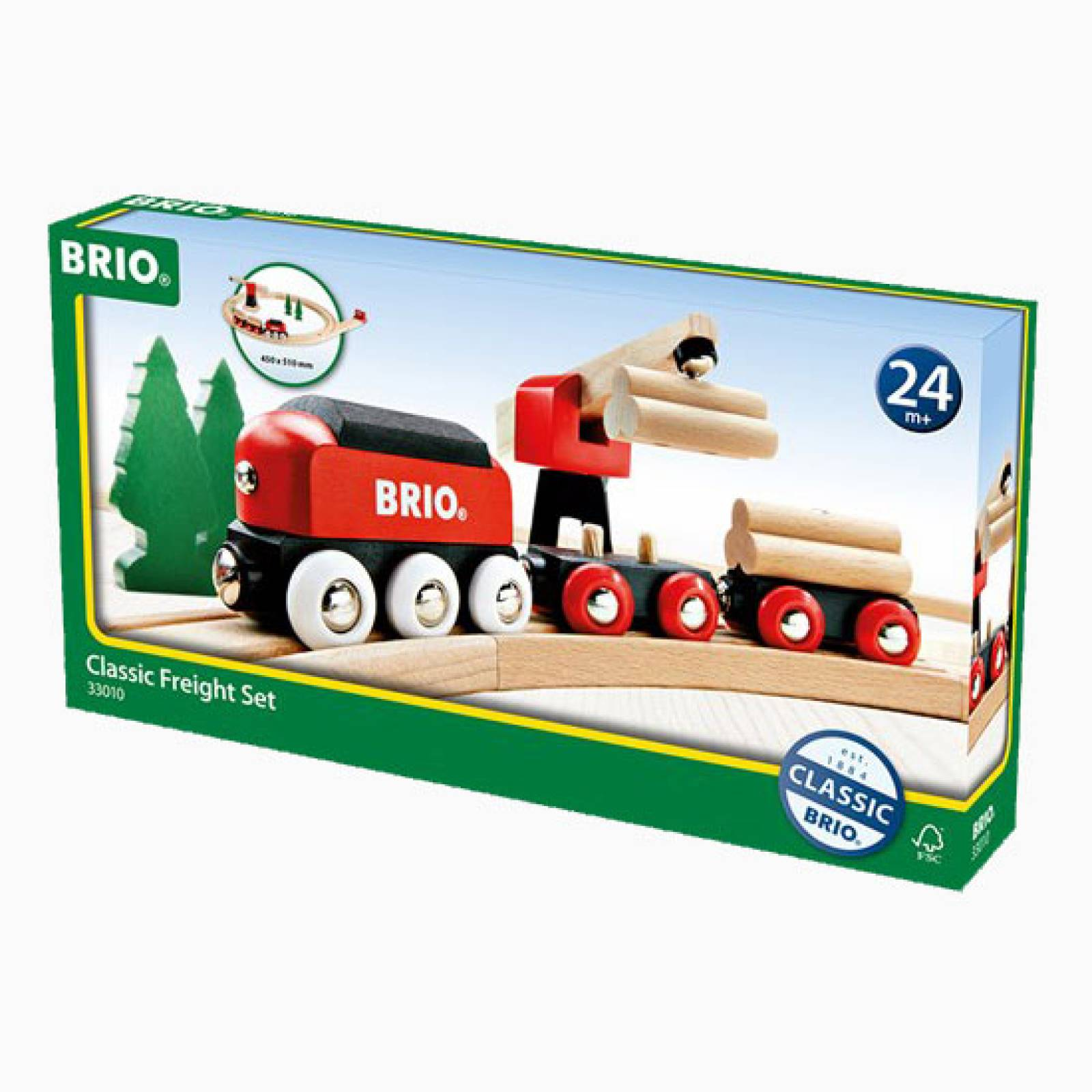 Classic Freight Set BRIO® Wooden Railway Age 3+ thumbnails