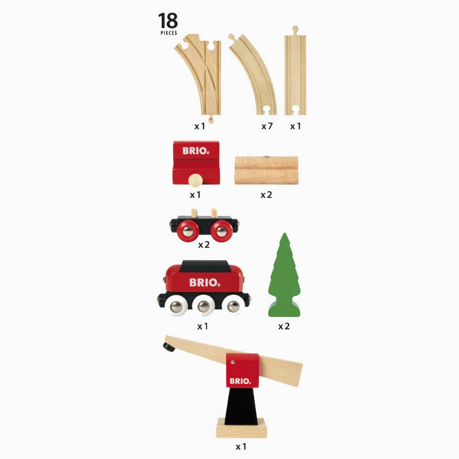 Classic Freight Set BRIO® Wooden Railway Age 3+ thumbnails