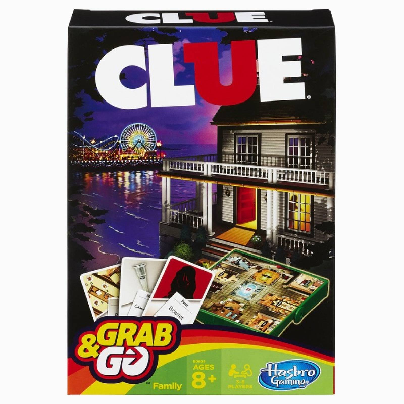Cluedo Grab And Go Game 8+