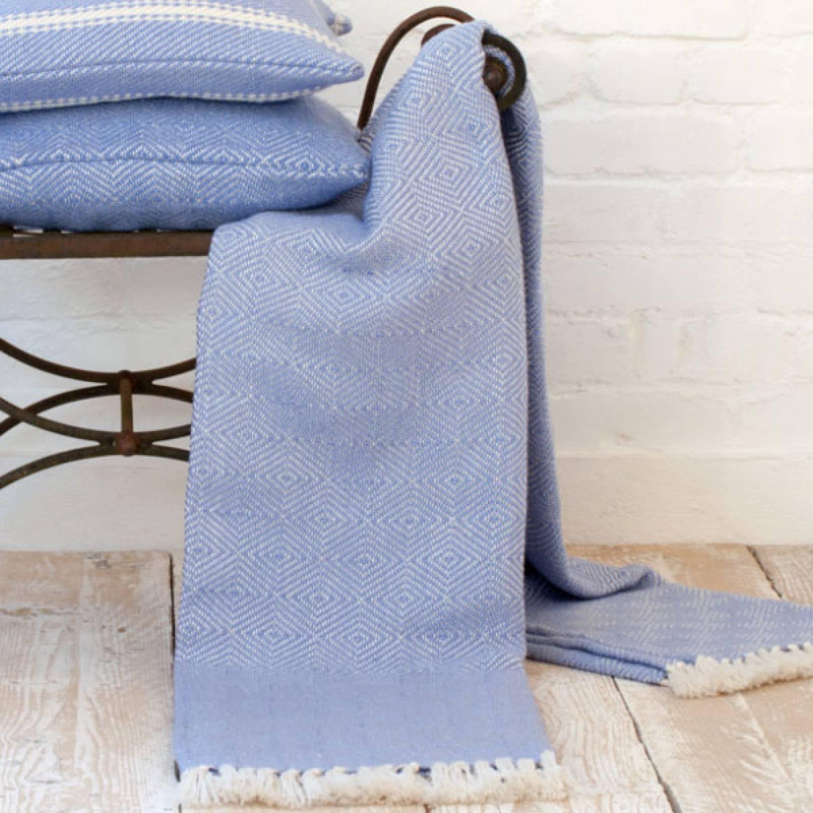 Cobalt Blanket From Recycled Bottles thumbnails