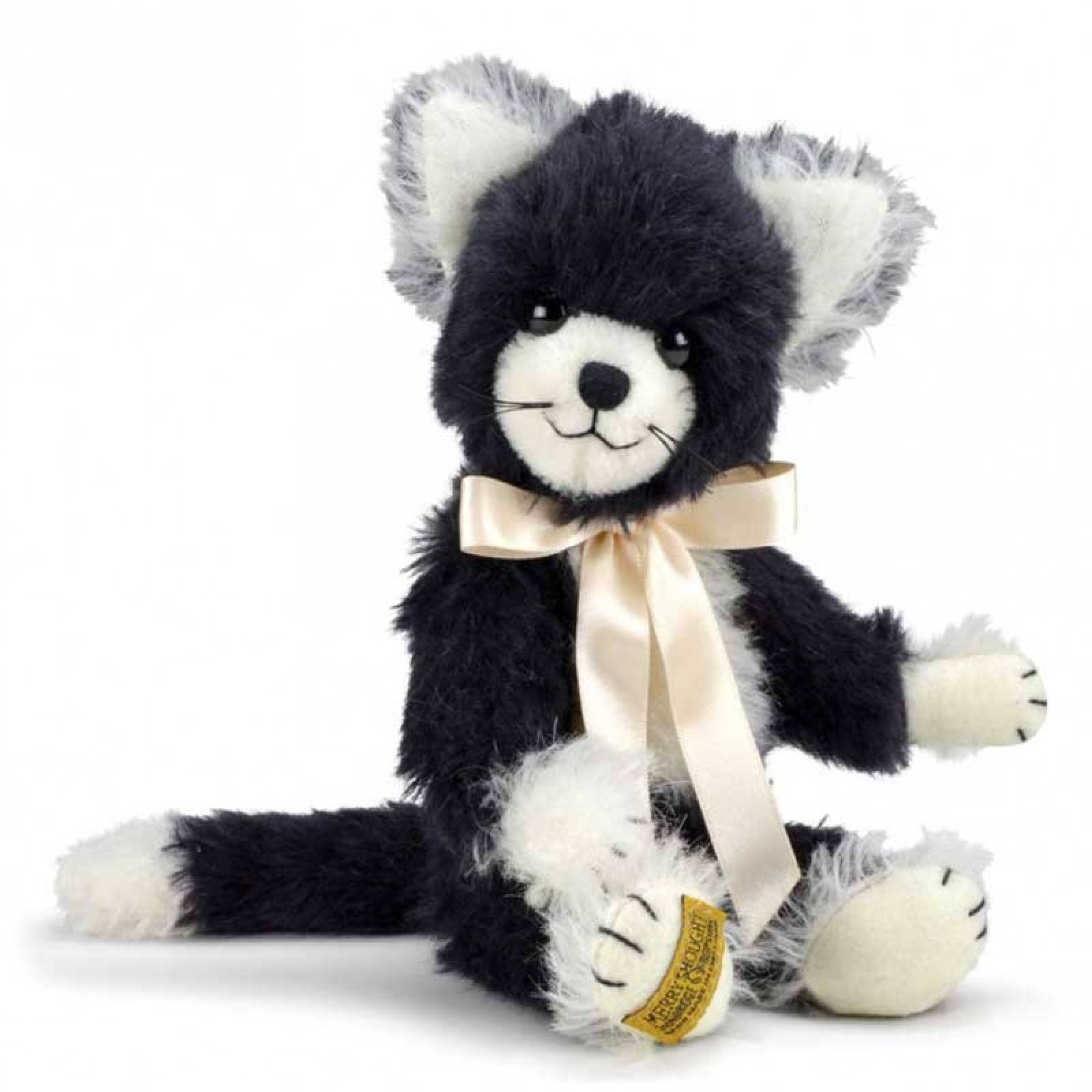 """Mohair Coco Cat 9"""" Handmade By Merrythought"""