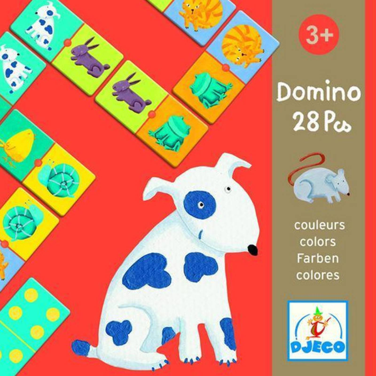 Dominoes Colour Animals Age 3yr+