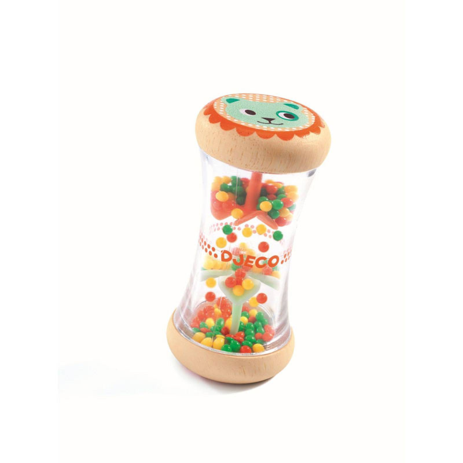 BabyPlui Colourful Wooden Rattle By Djeco 0+ thumbnails