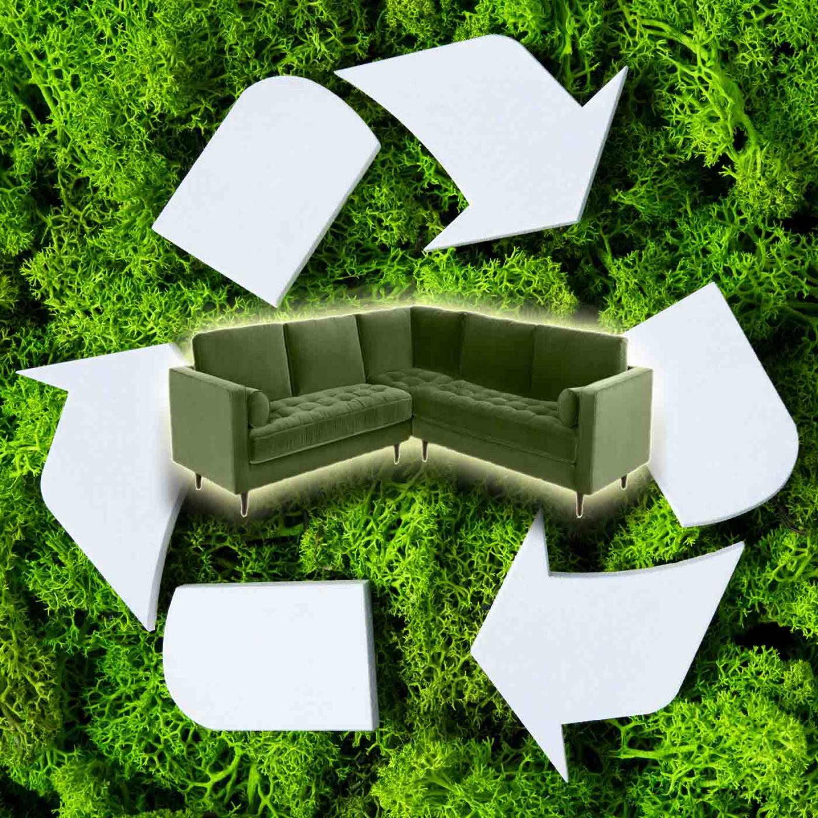 Corner Sofa - Furniture Disposal & Recycling