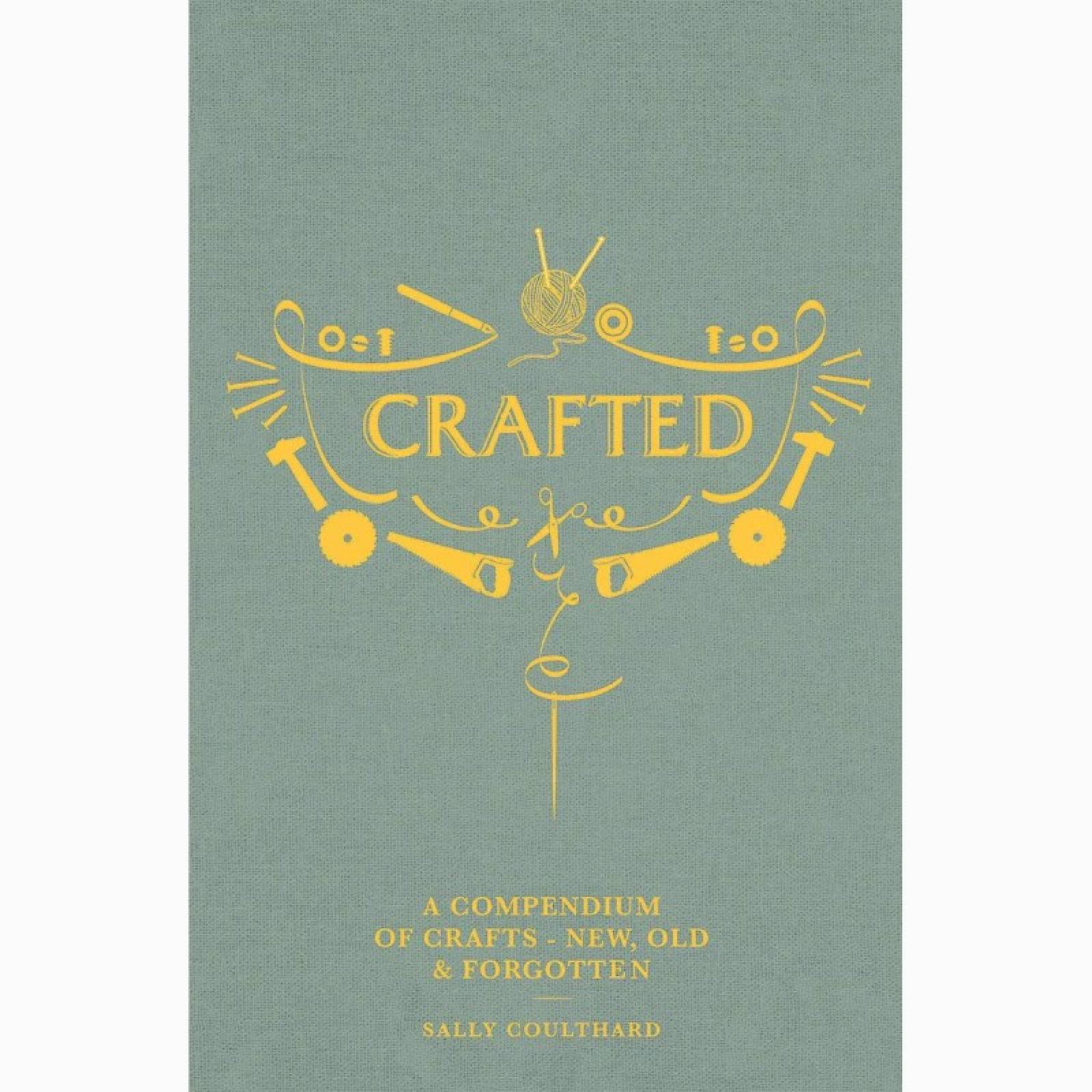 Crafted - Hardback Book