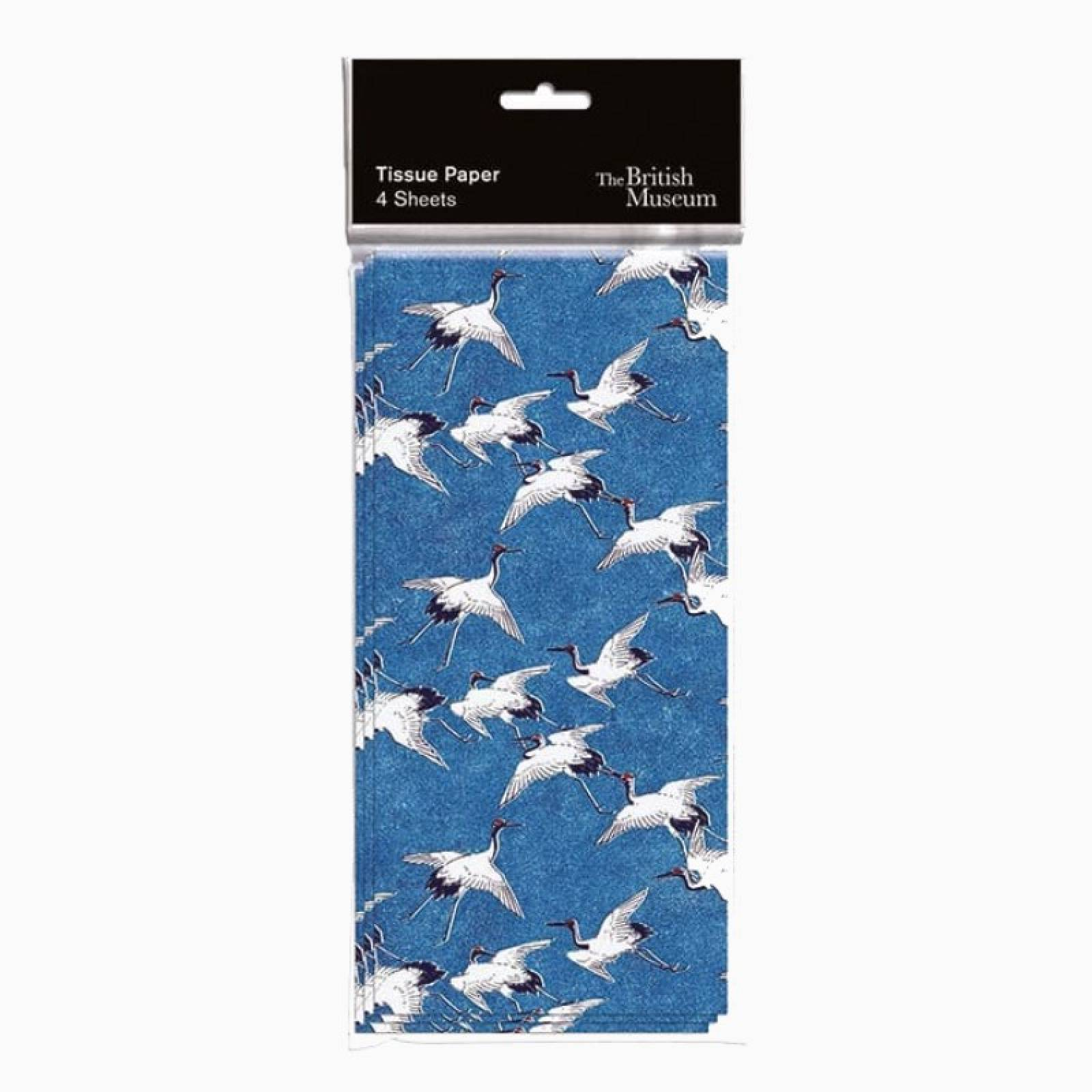 Cranes In Flight Tissue Paper