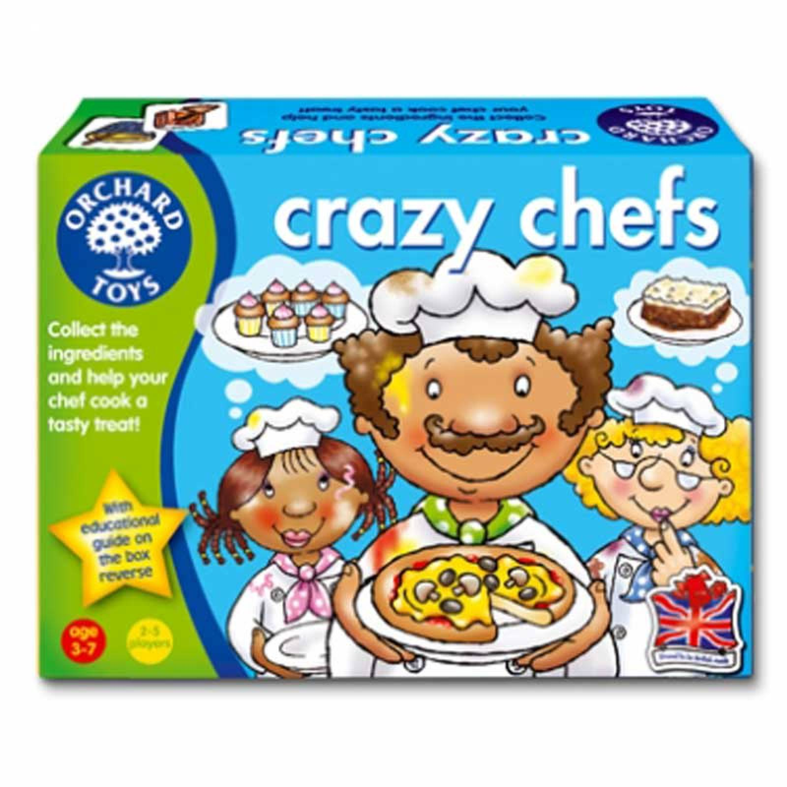 Crazy Chef Game by Orchard Toys 3+