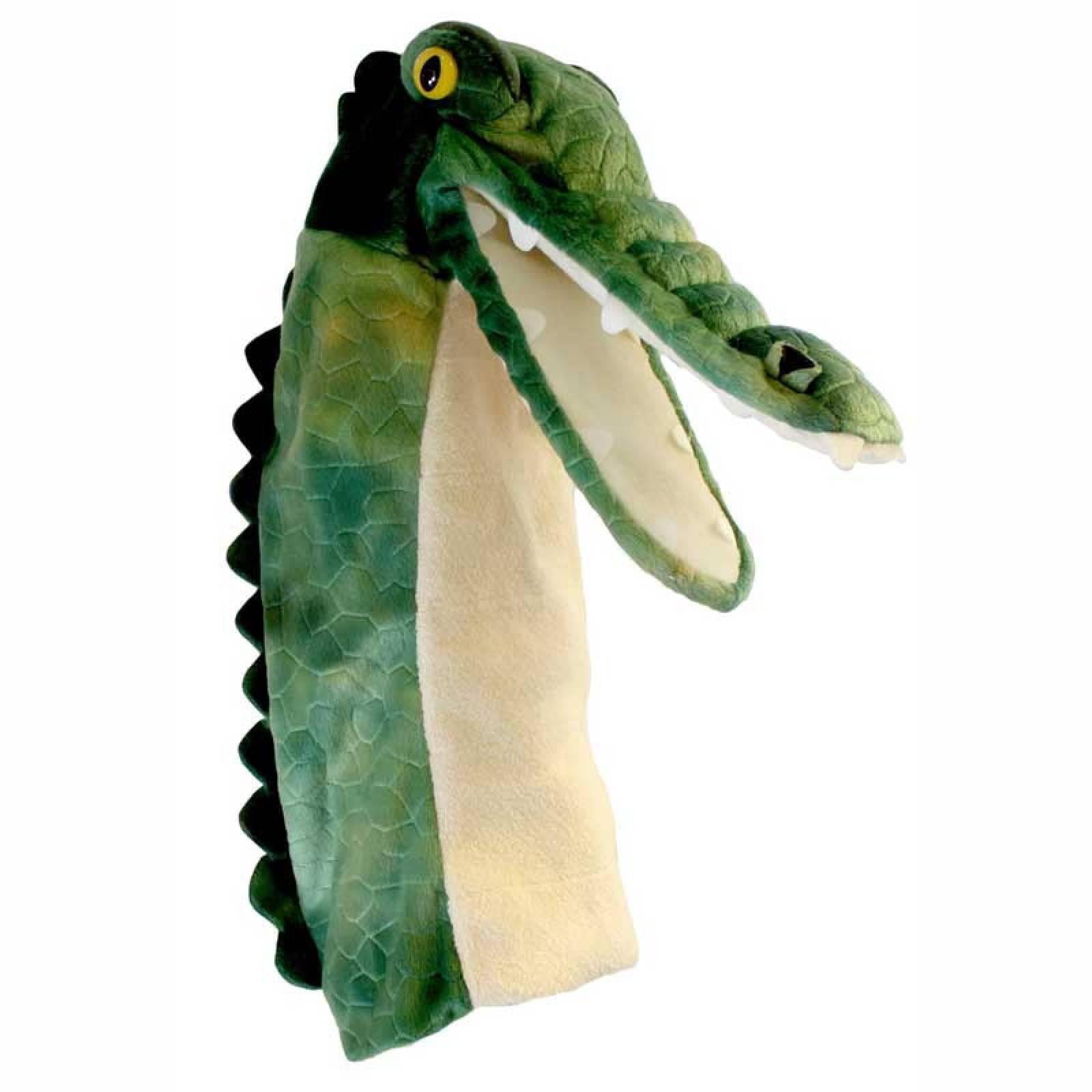 Crocodile Long Sleeved Glove Puppet