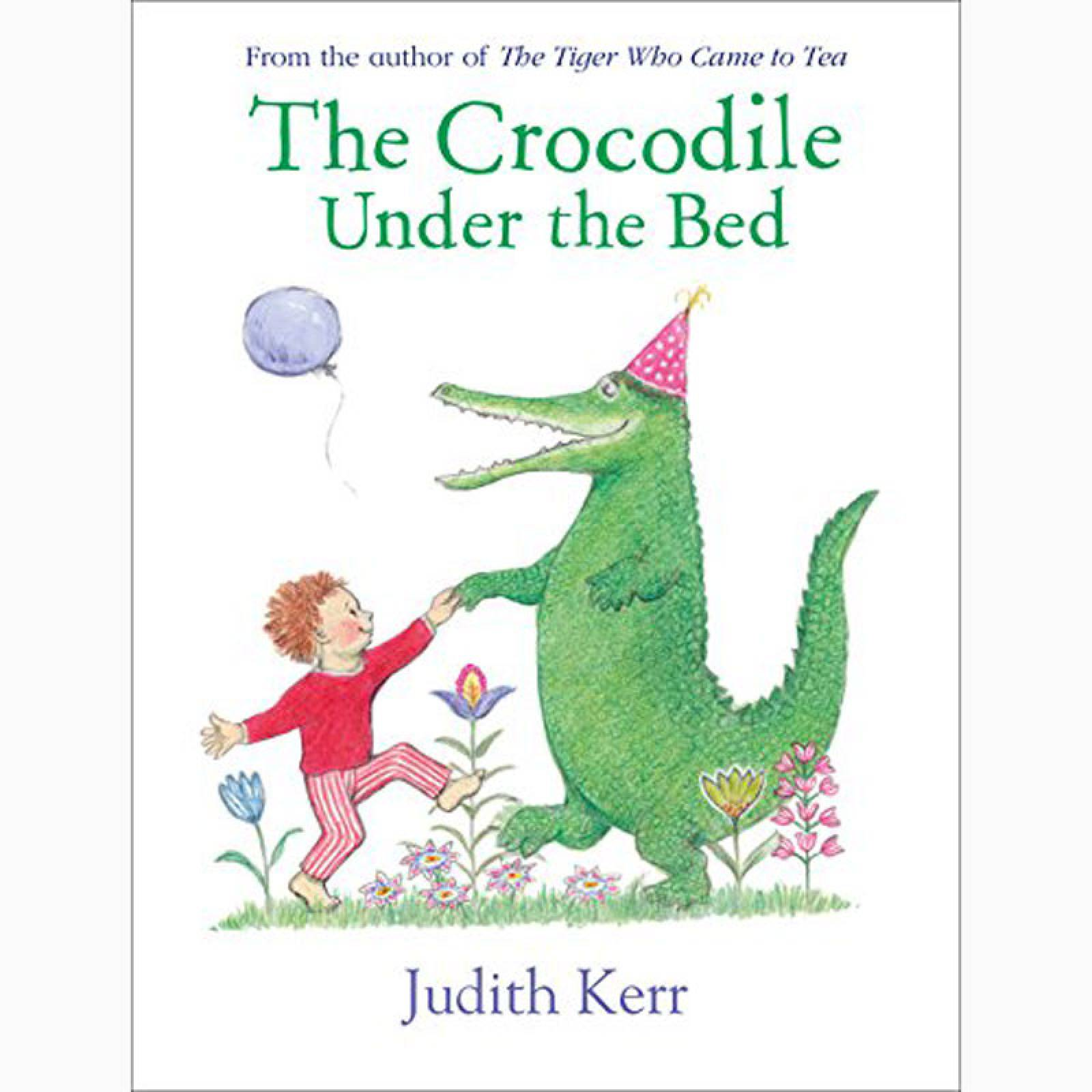 The Crocodile Under The Bed - Board Book