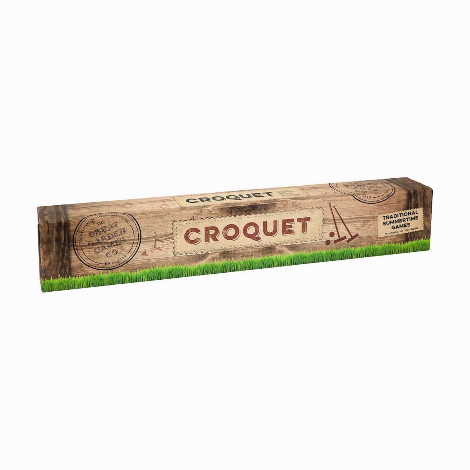 Wooden Croquet Set thumbnails