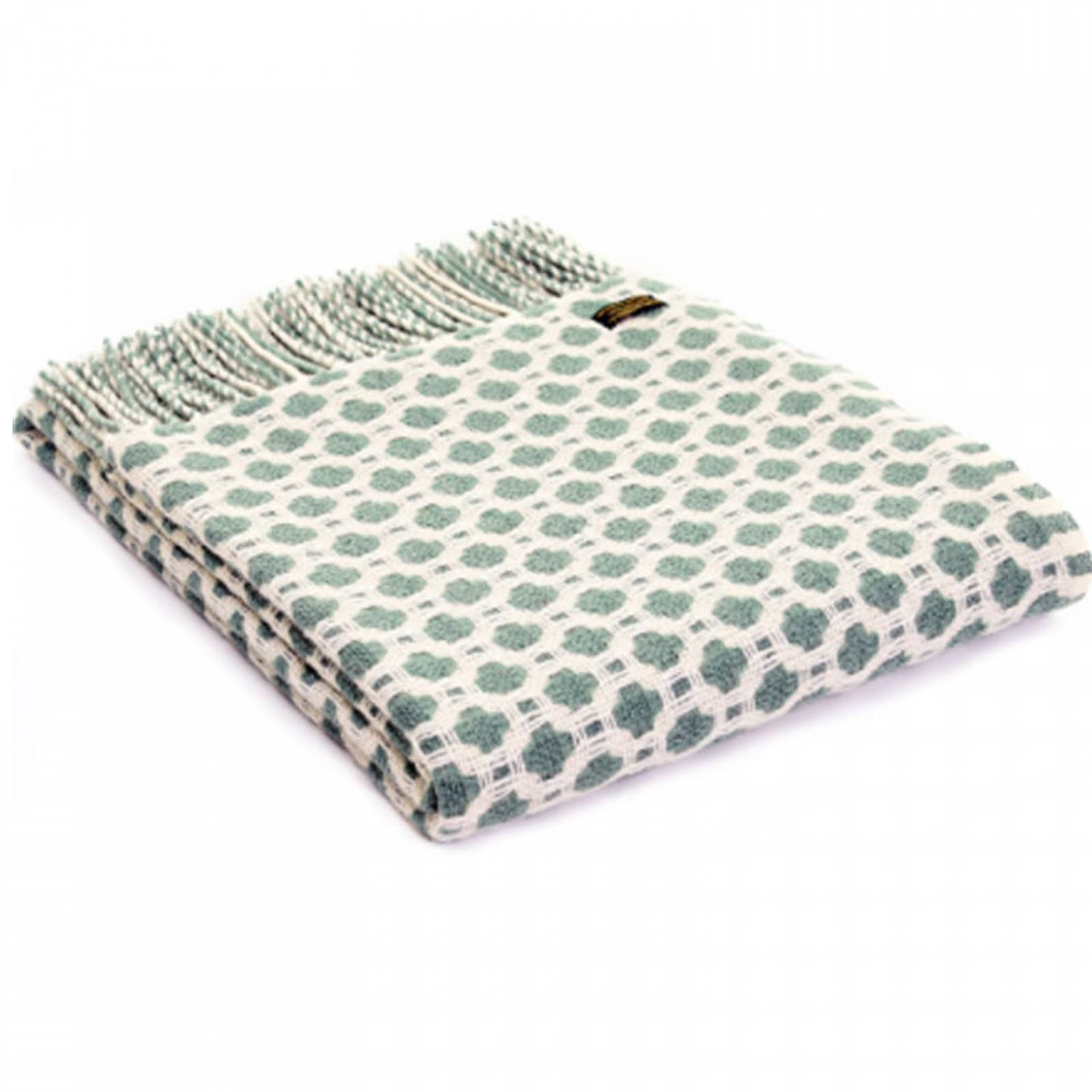 Sea Green Crossroads Throw Blanket 150x183cm