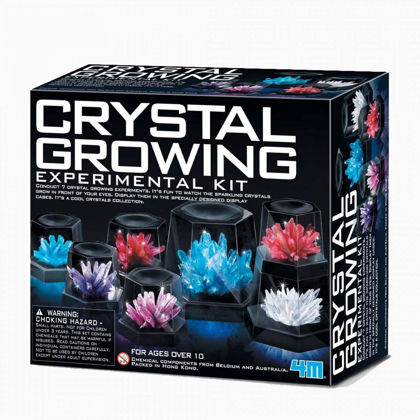 Crystal Growing Experimental kit - Science Kit 8+ thumbnails