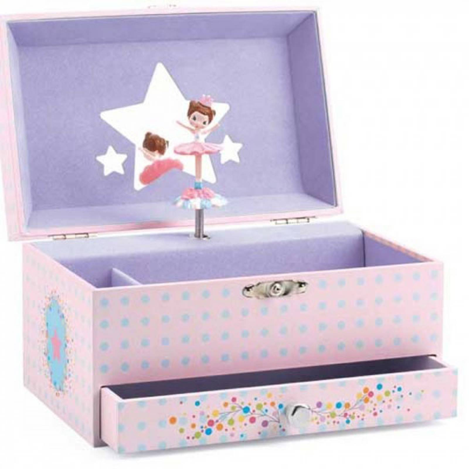 Dancer Music Box With Drawer By Djeco
