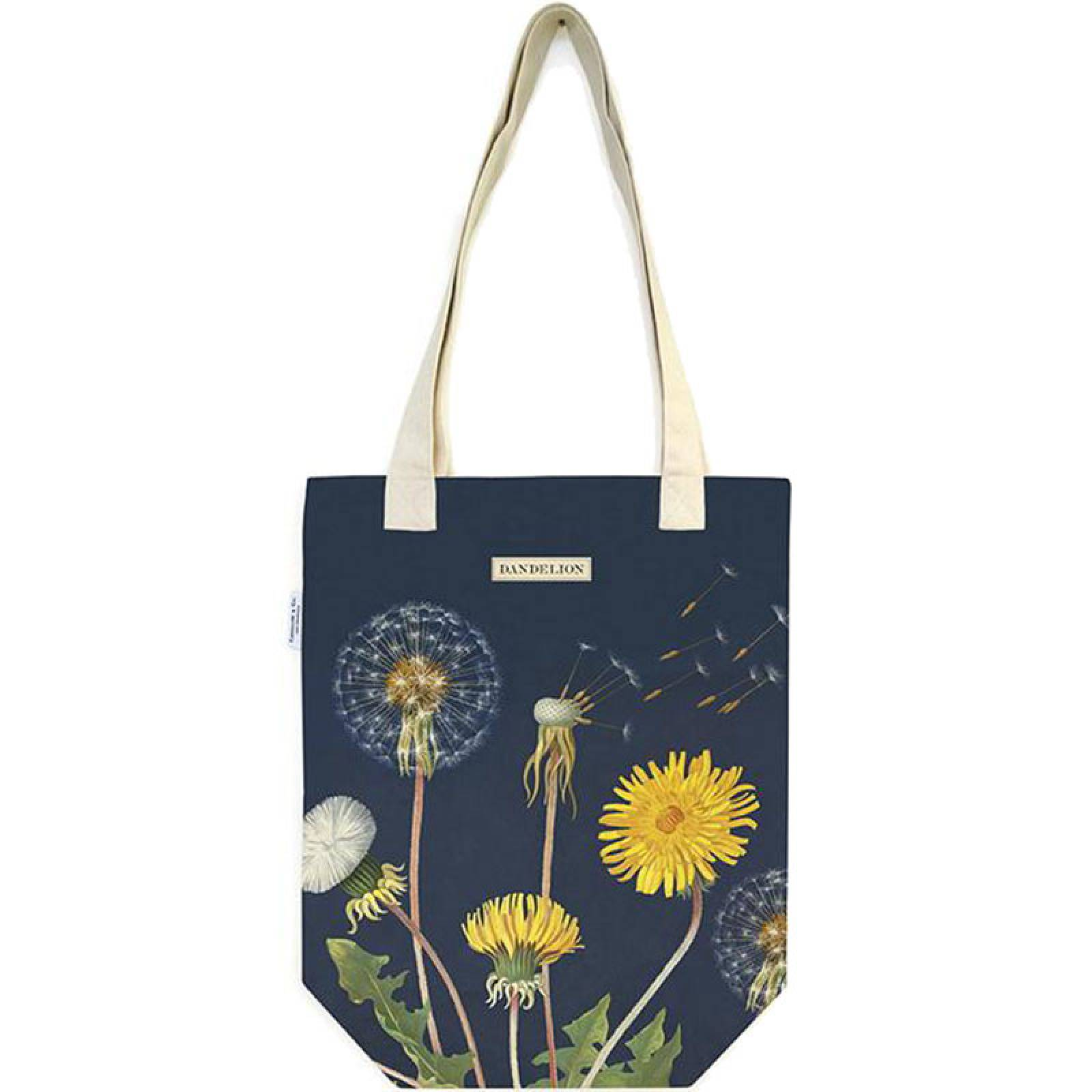 Dandelion Cotton Tote Bag thumbnails