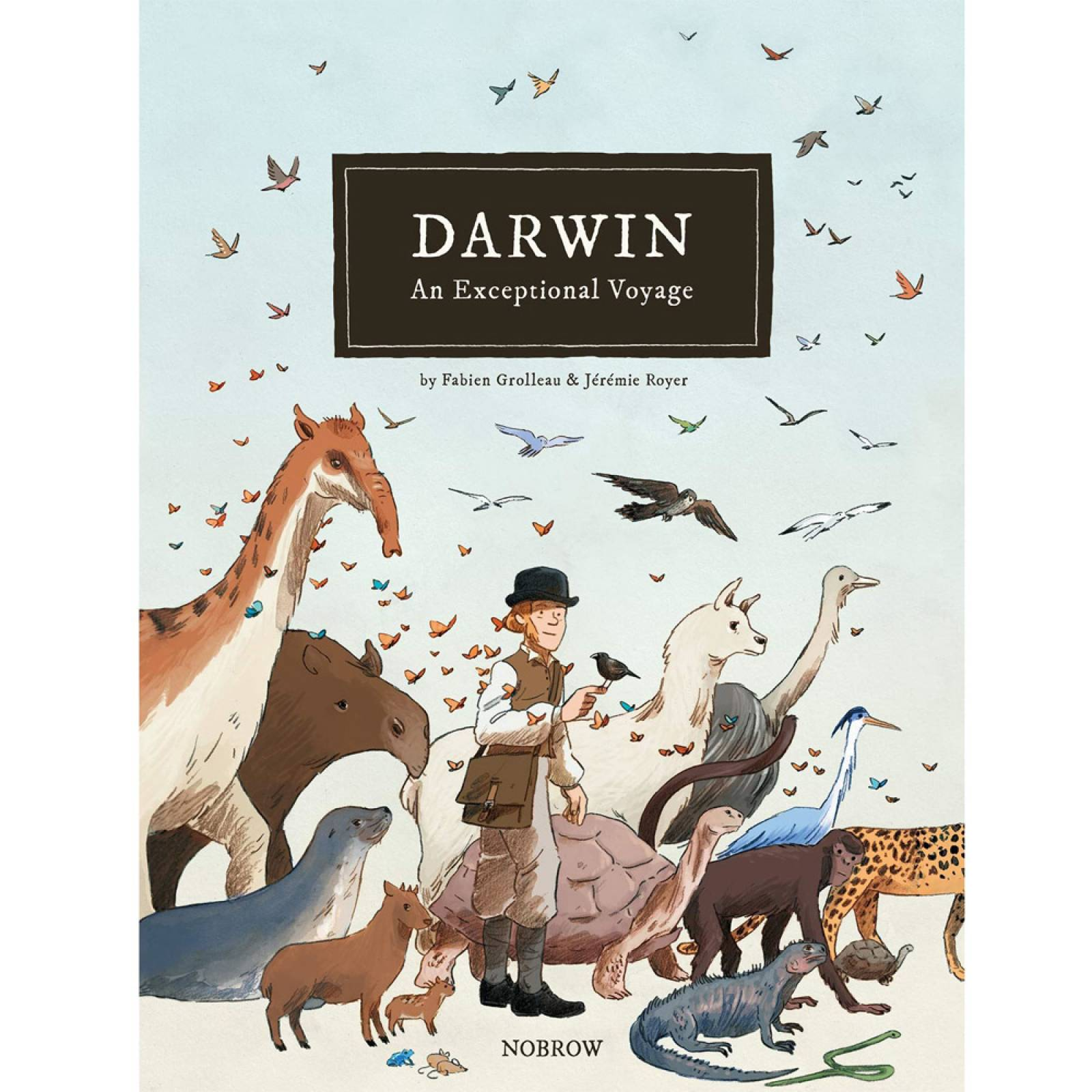 Darwin: An Exceptional Voyage - Hardback Book