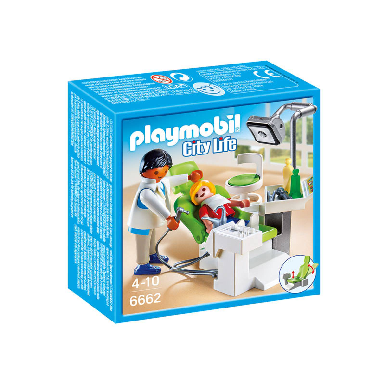 Dentist With Patient City Life Playmobil 6662 4-10yrs thumbnails
