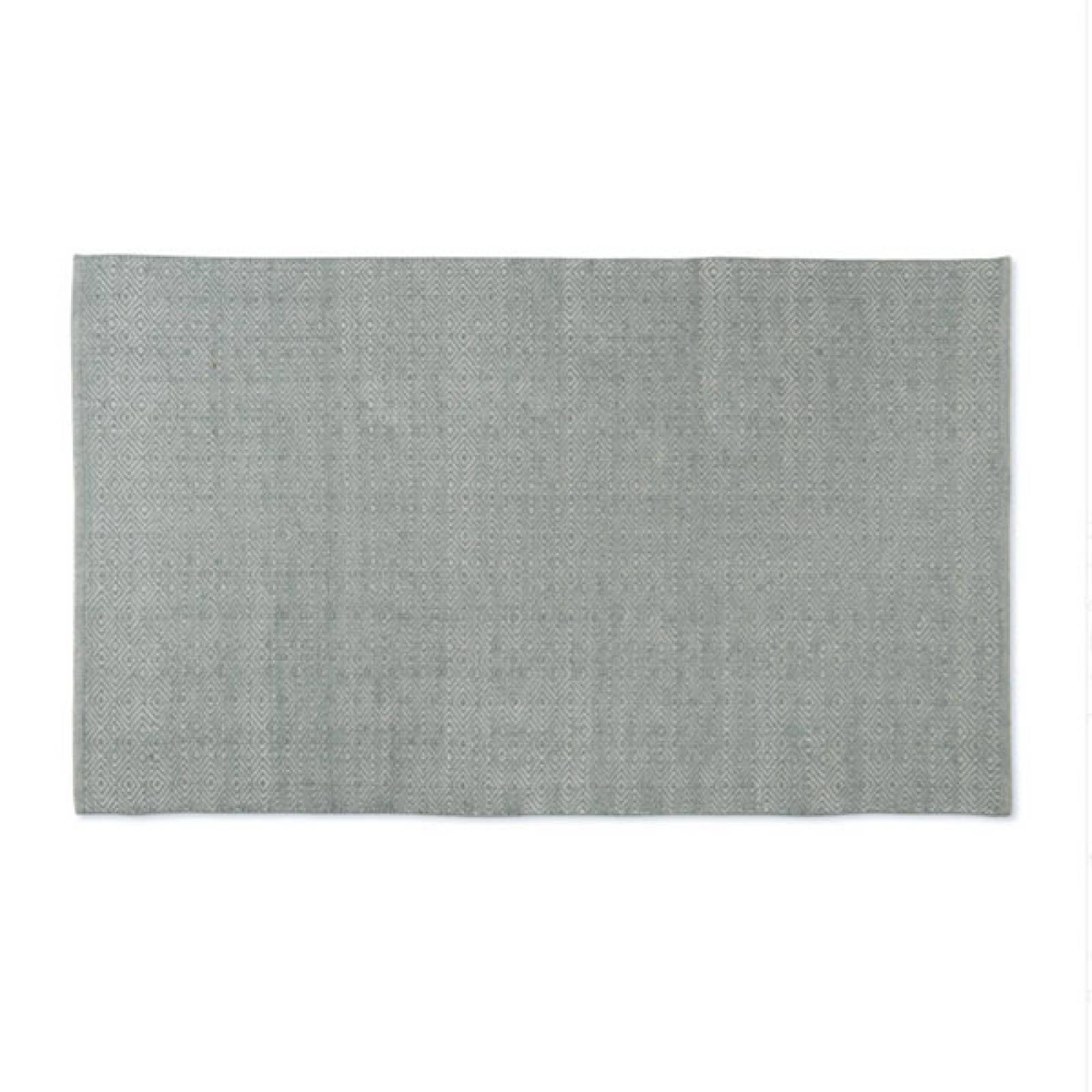 Diamond GREY 180 x 120cm Recycled Bottle Rug thumbnails