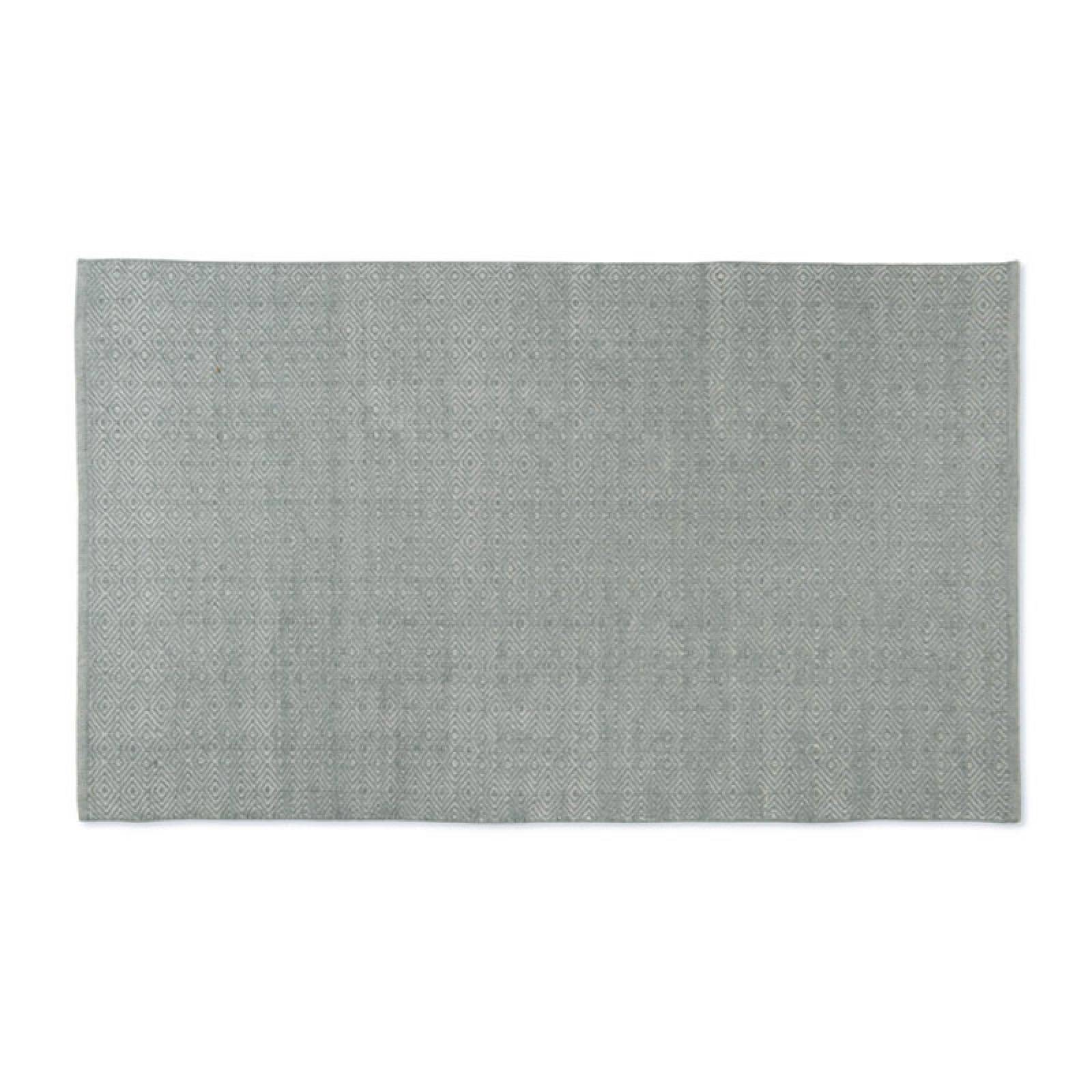 Diamond GREY 150x90cm Recycled Bottle Rug thumbnails