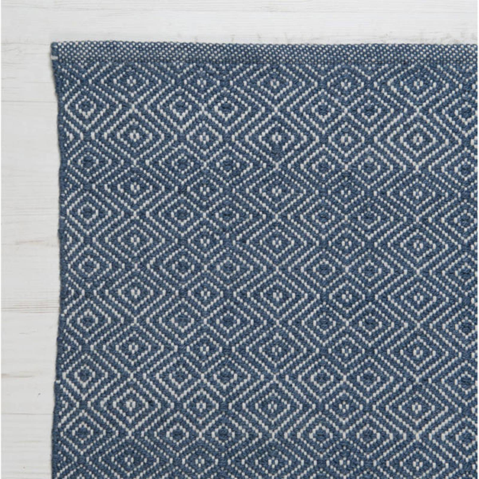 Diamond NAVY 240x170cm Recycled Bottle Rug thumbnails