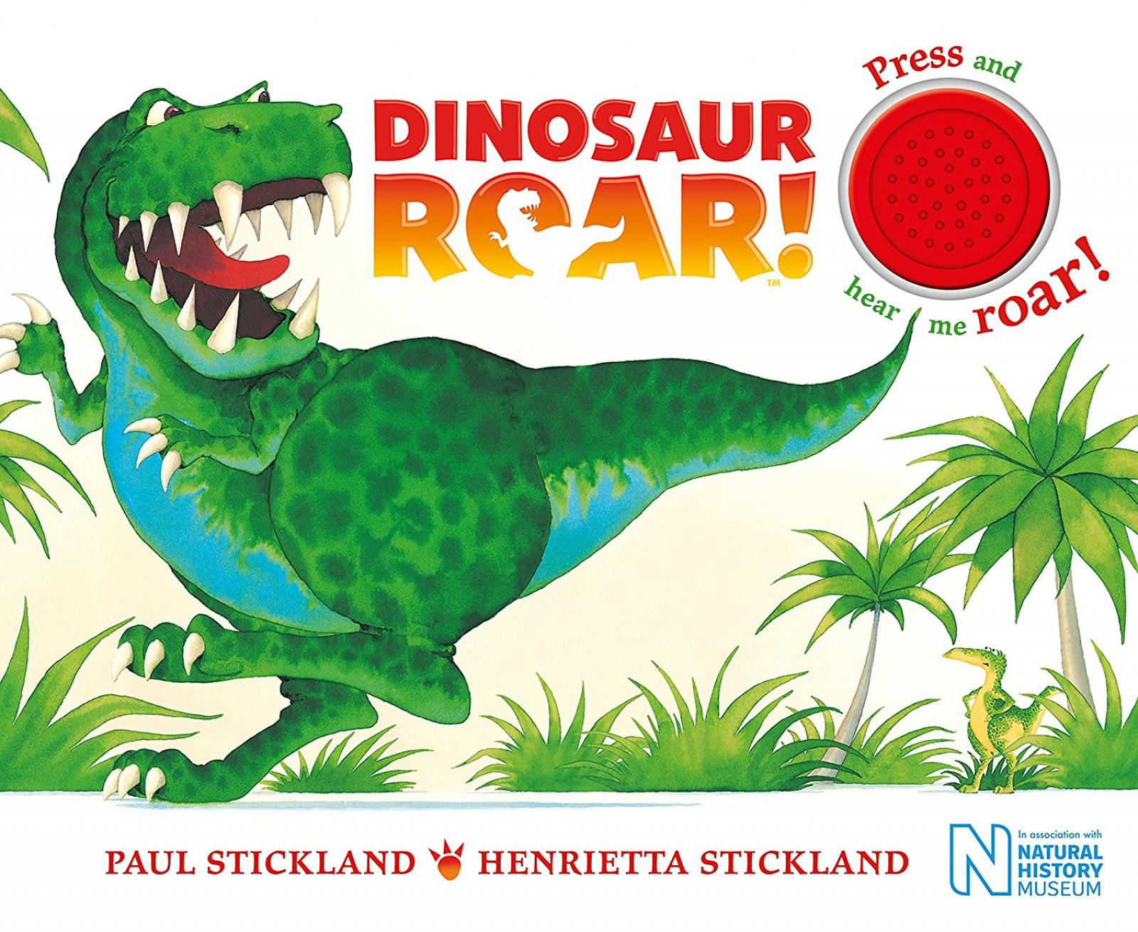 Dinosaur Roar! Sound Board Book