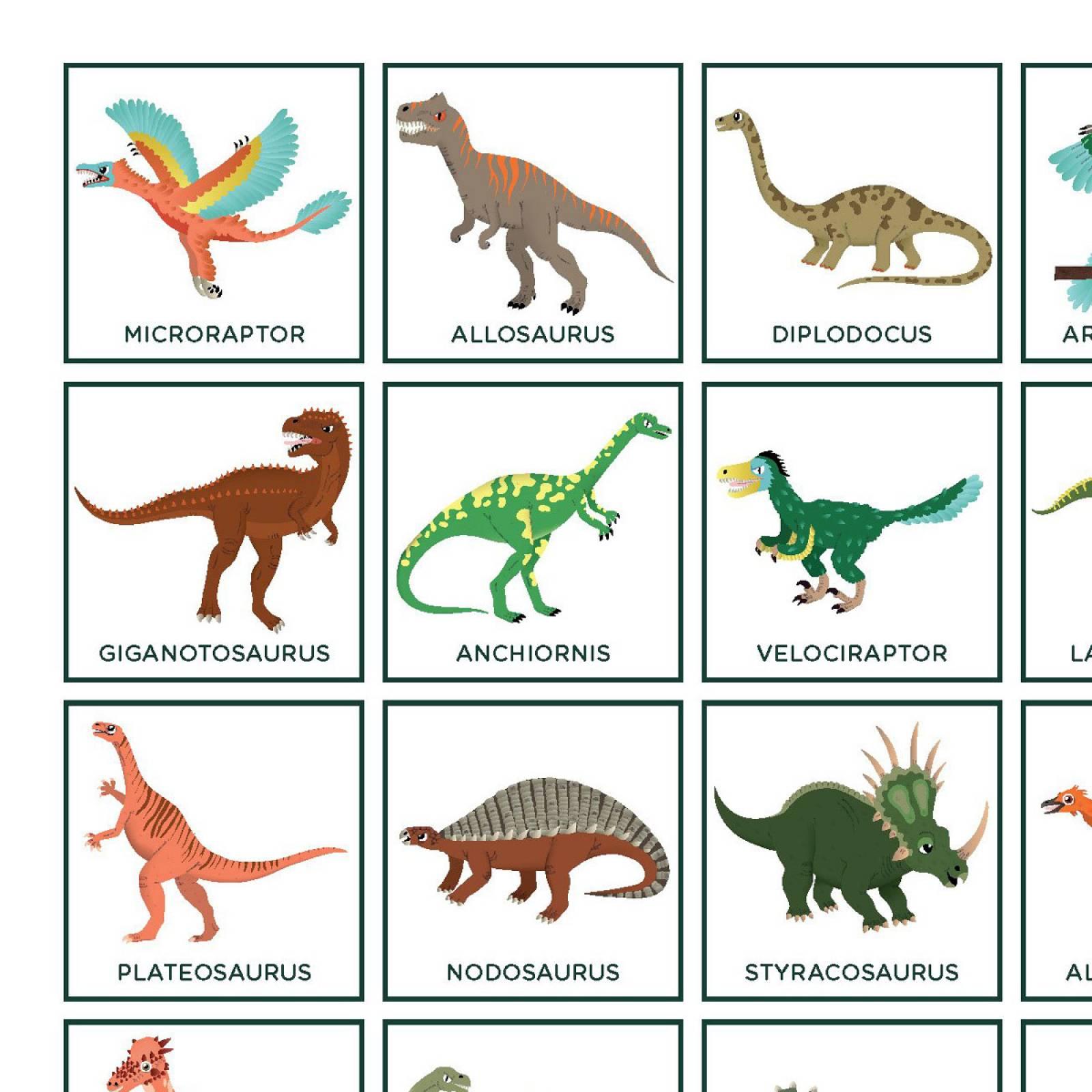 Dinosaur Bingo 6+ thumbnails