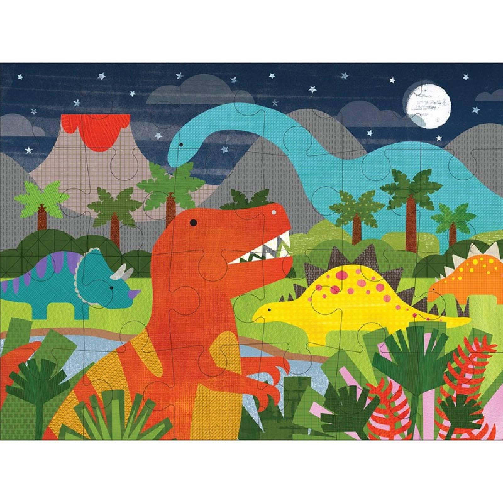 Dinosaur Kingdom Floor Puzzle 24pc 3+ thumbnails