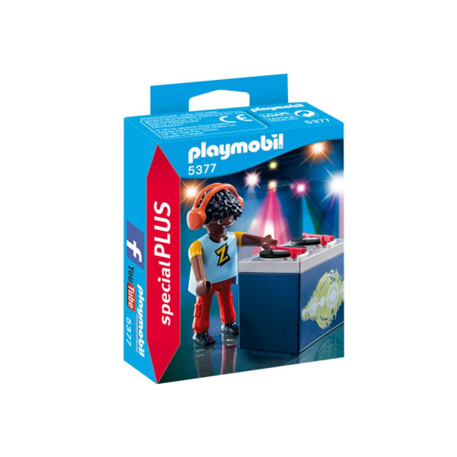DJ Special Plus Figurine Playmobil 5377 thumbnails