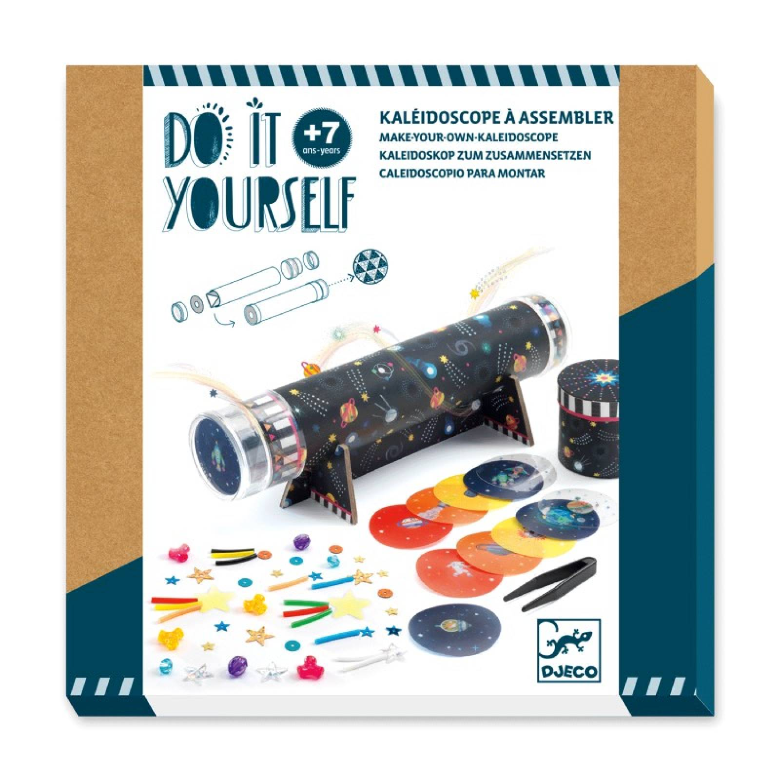 Do It Yourself Space Immersion Kaleidoscope Kit 7+