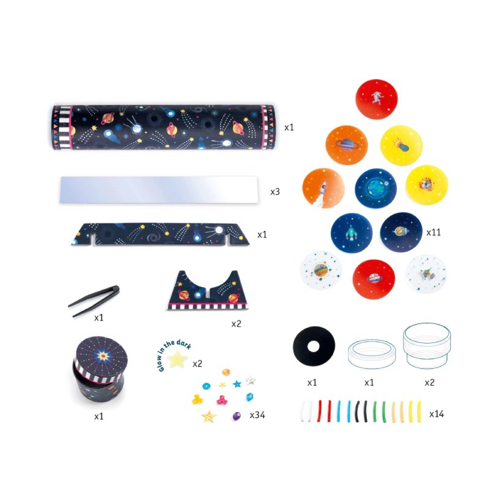 Do It Yourself Space Immersion Kaleidoscope Kit 7+ thumbnails