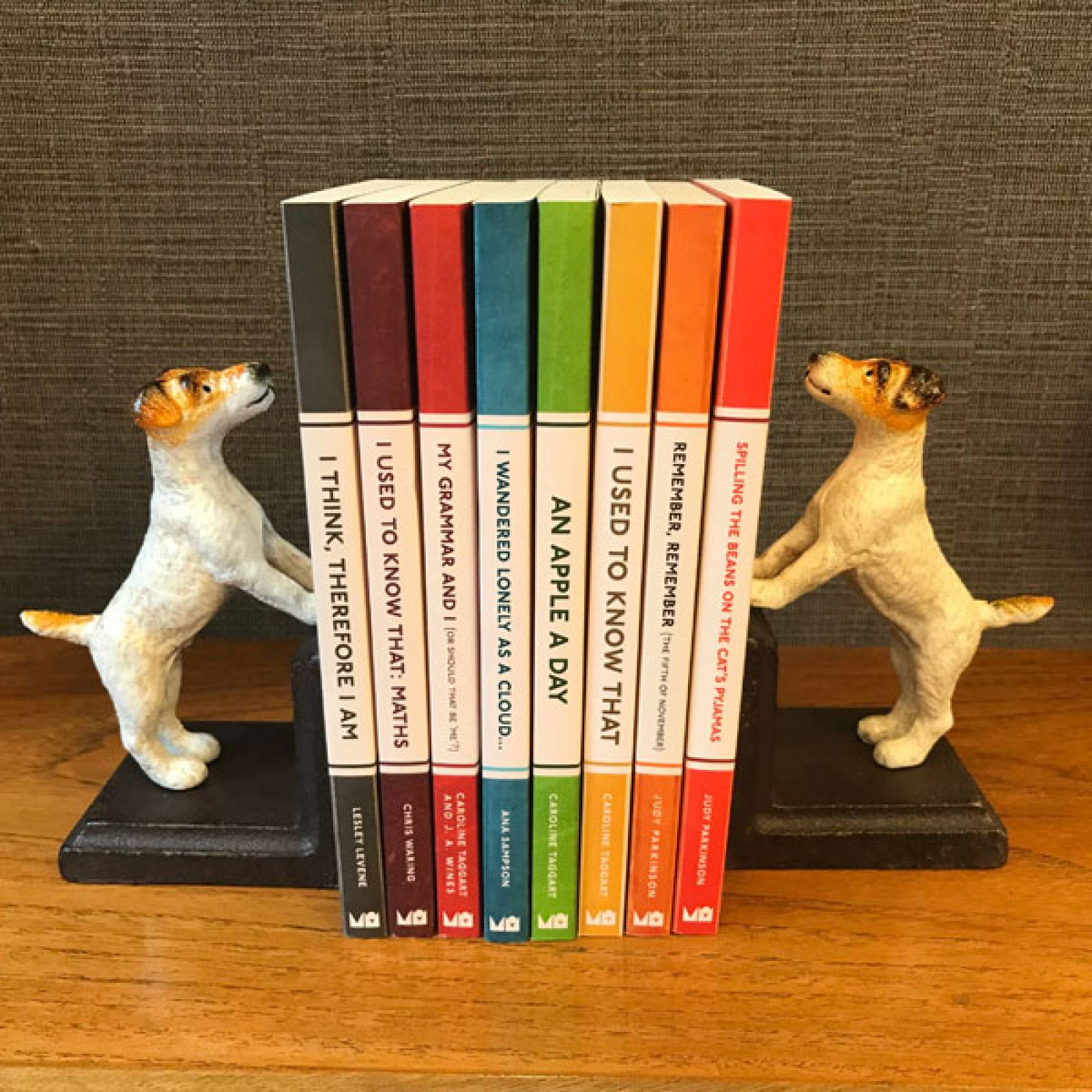 Fox Terrier Dog Bookends thumbnails