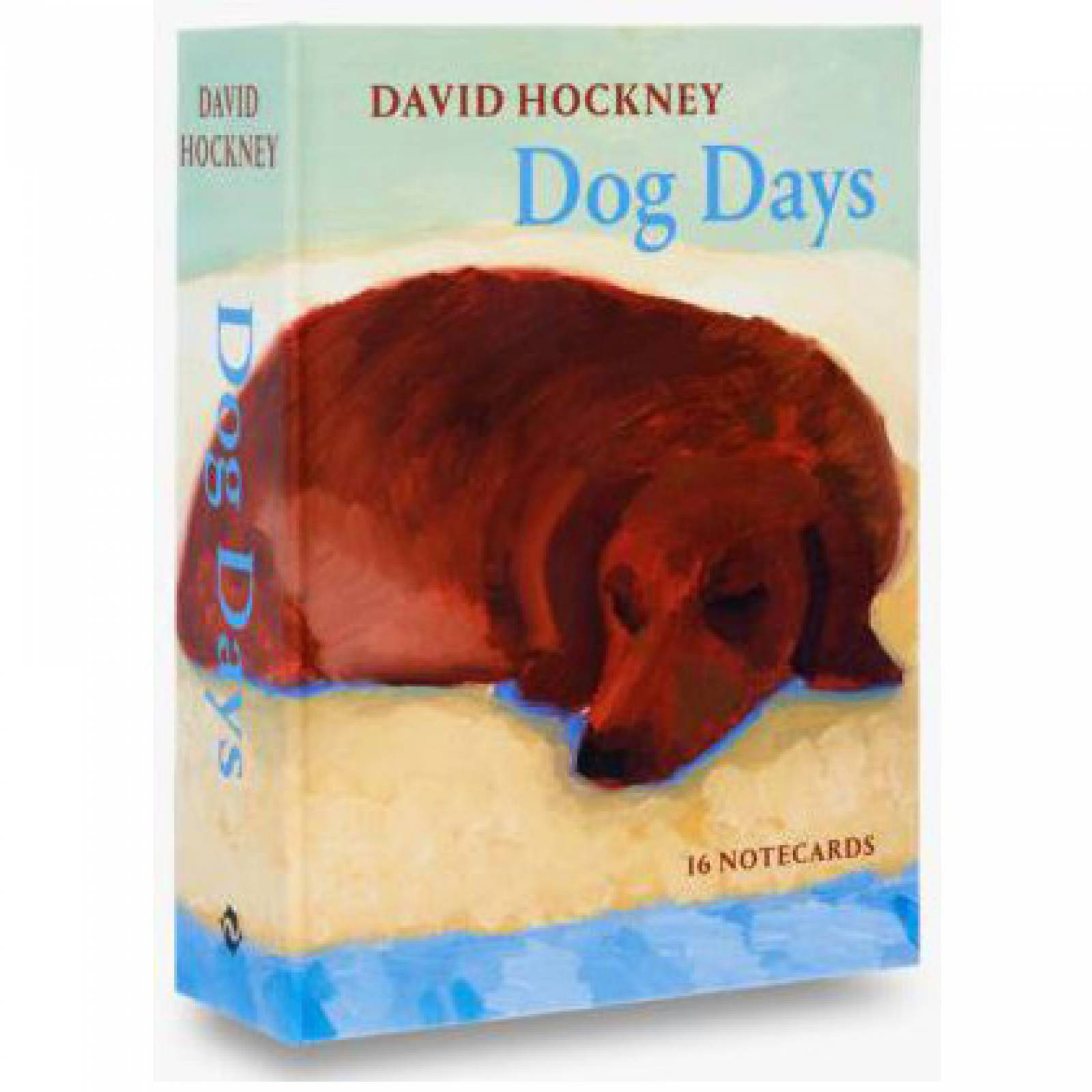 David Hockney Dog Days - Box Of Notecards