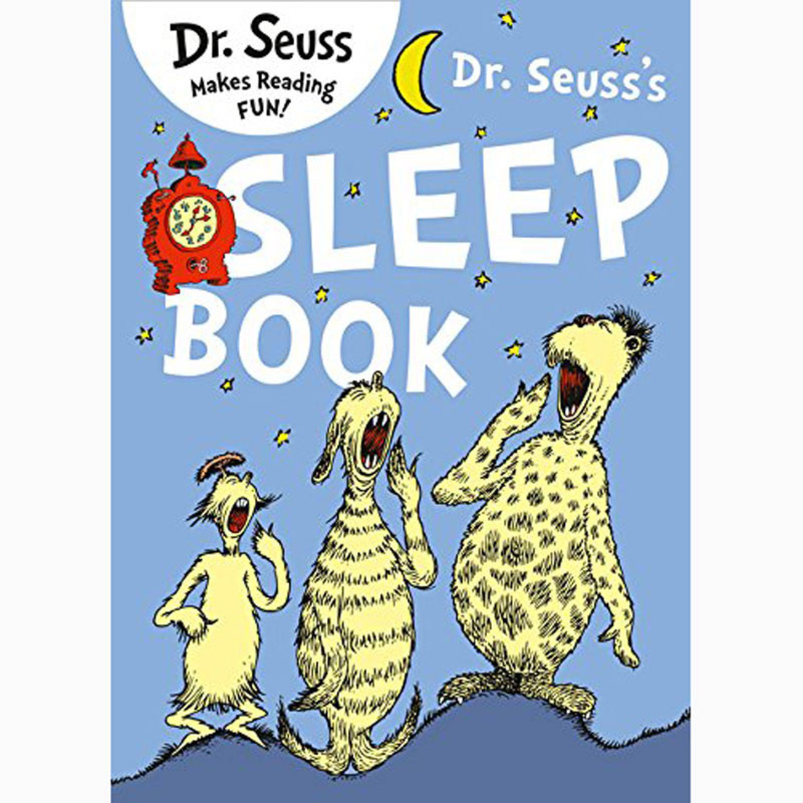 Dr. Seuss Sleep Book - Paperback Book