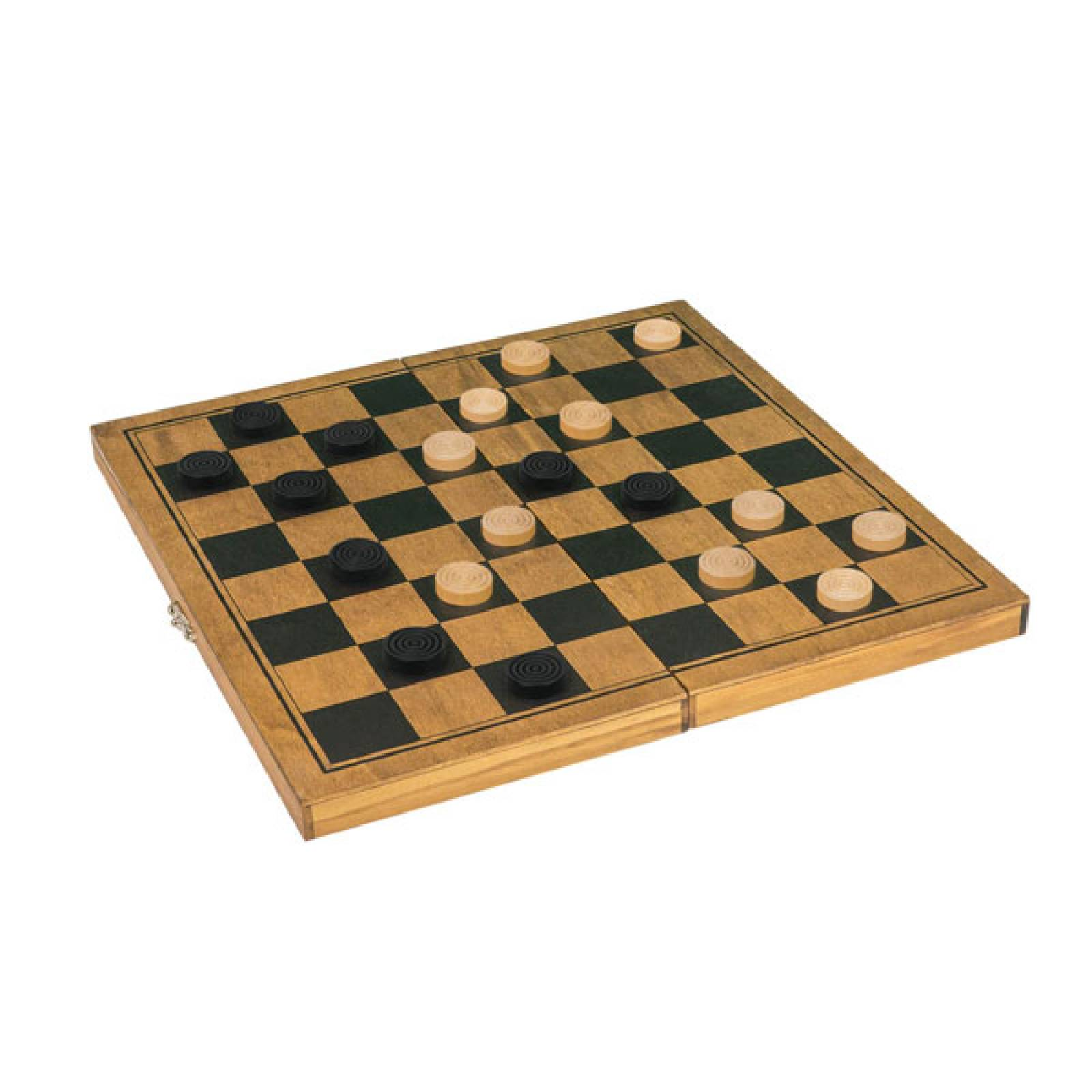DRAUGHTS Handcrafted Wooden Board Game thumbnails