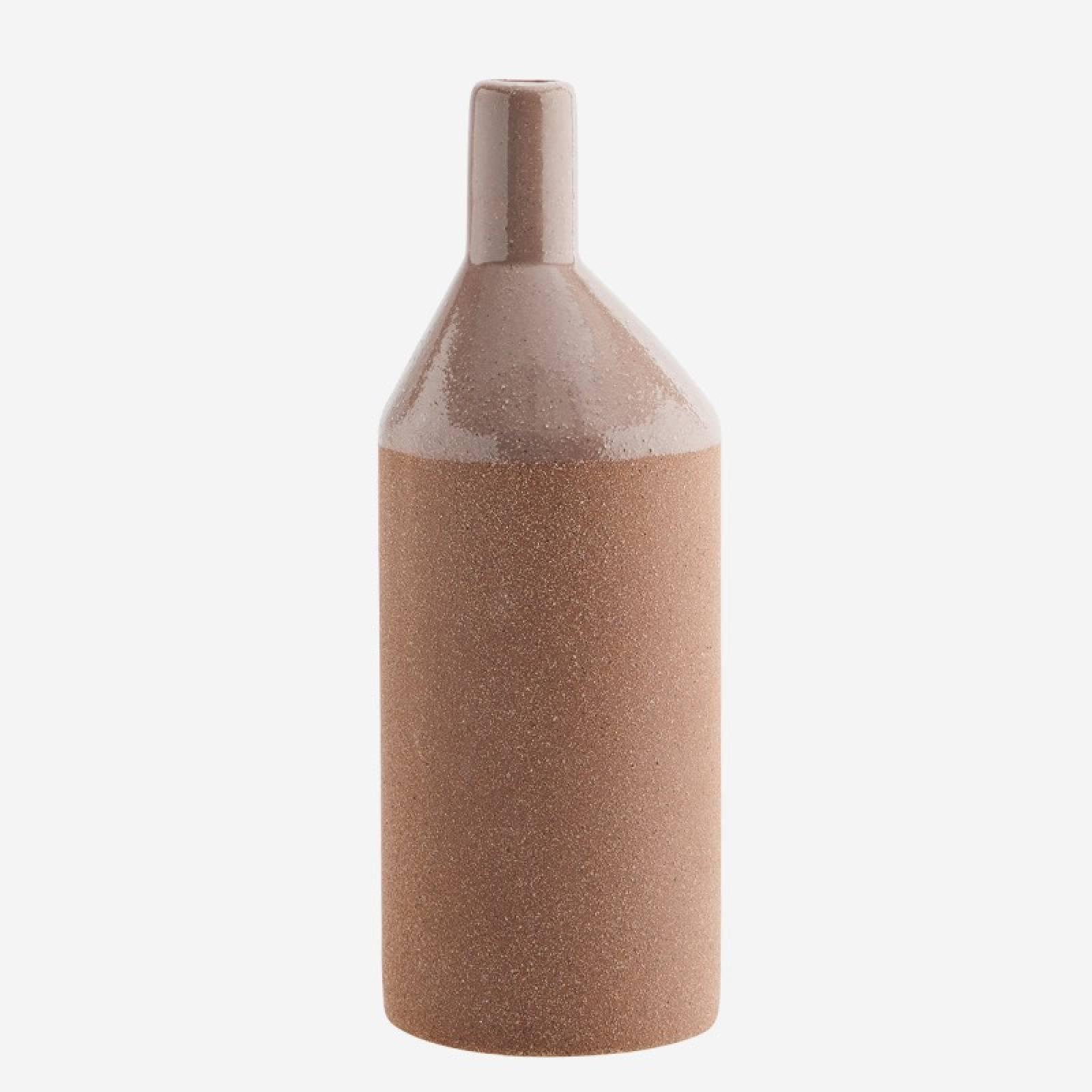 Dusty Rose Slim Glazed Vase 26cm thumbnails