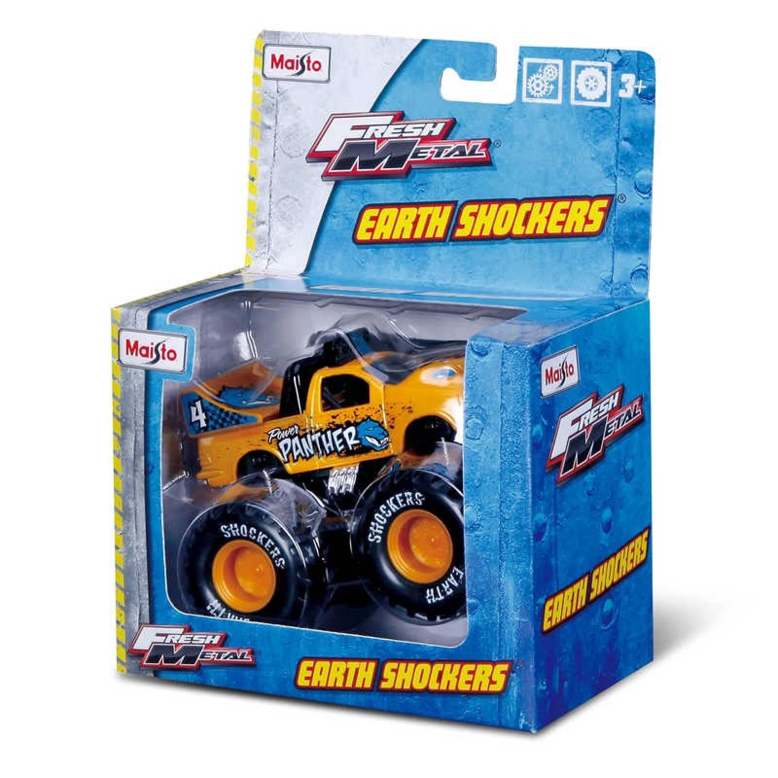 Pull Back Earth Shocker Monster Truck Toy 3+ thumbnails