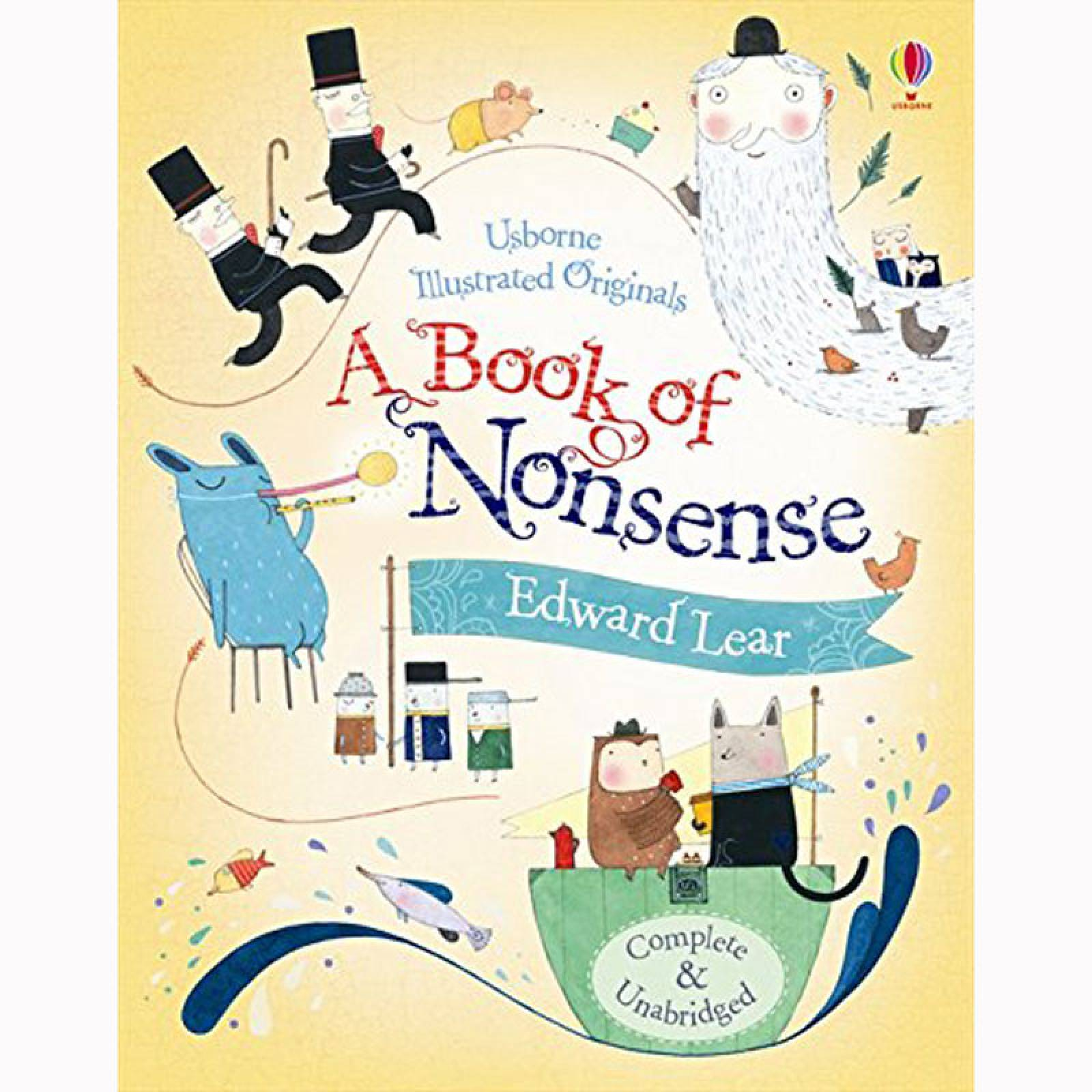 Edward Lear's Book Of Nonsense - Hardback Book